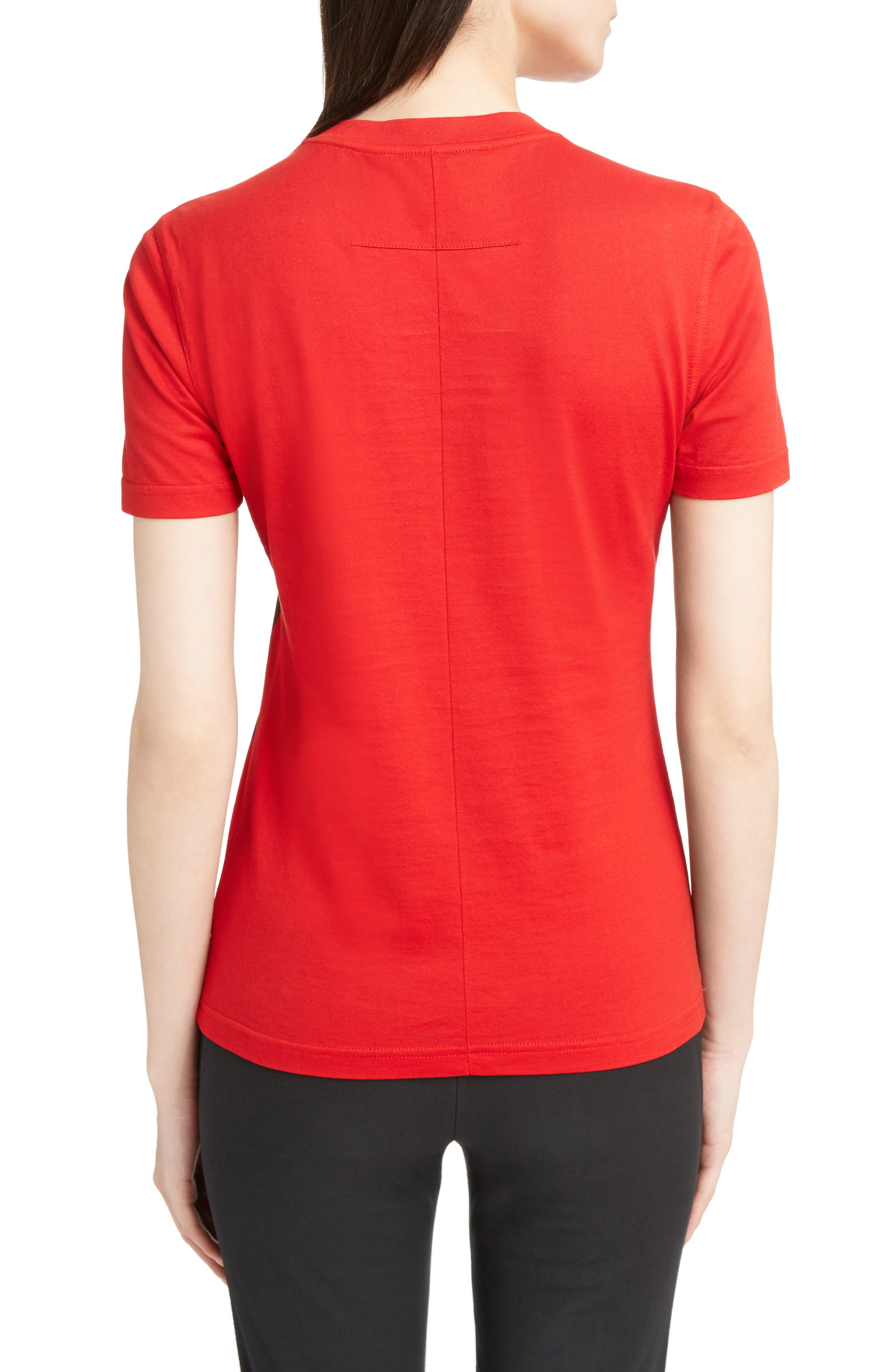 Bambi Cotton Tee,                             Alternate thumbnail 2, color,                             RED