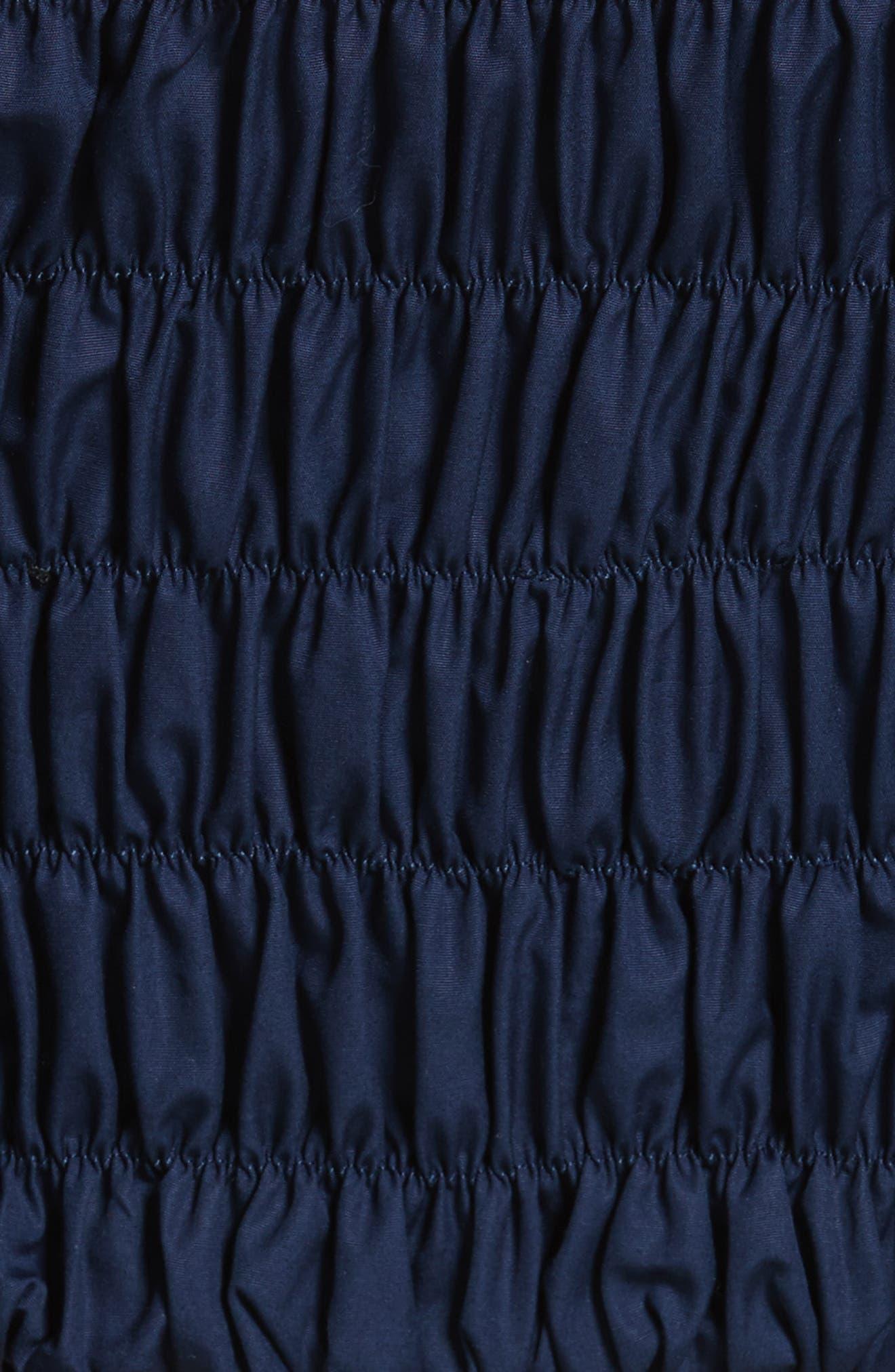 Bachelorette Ruched Corset Top,                             Alternate thumbnail 5, color,                             400
