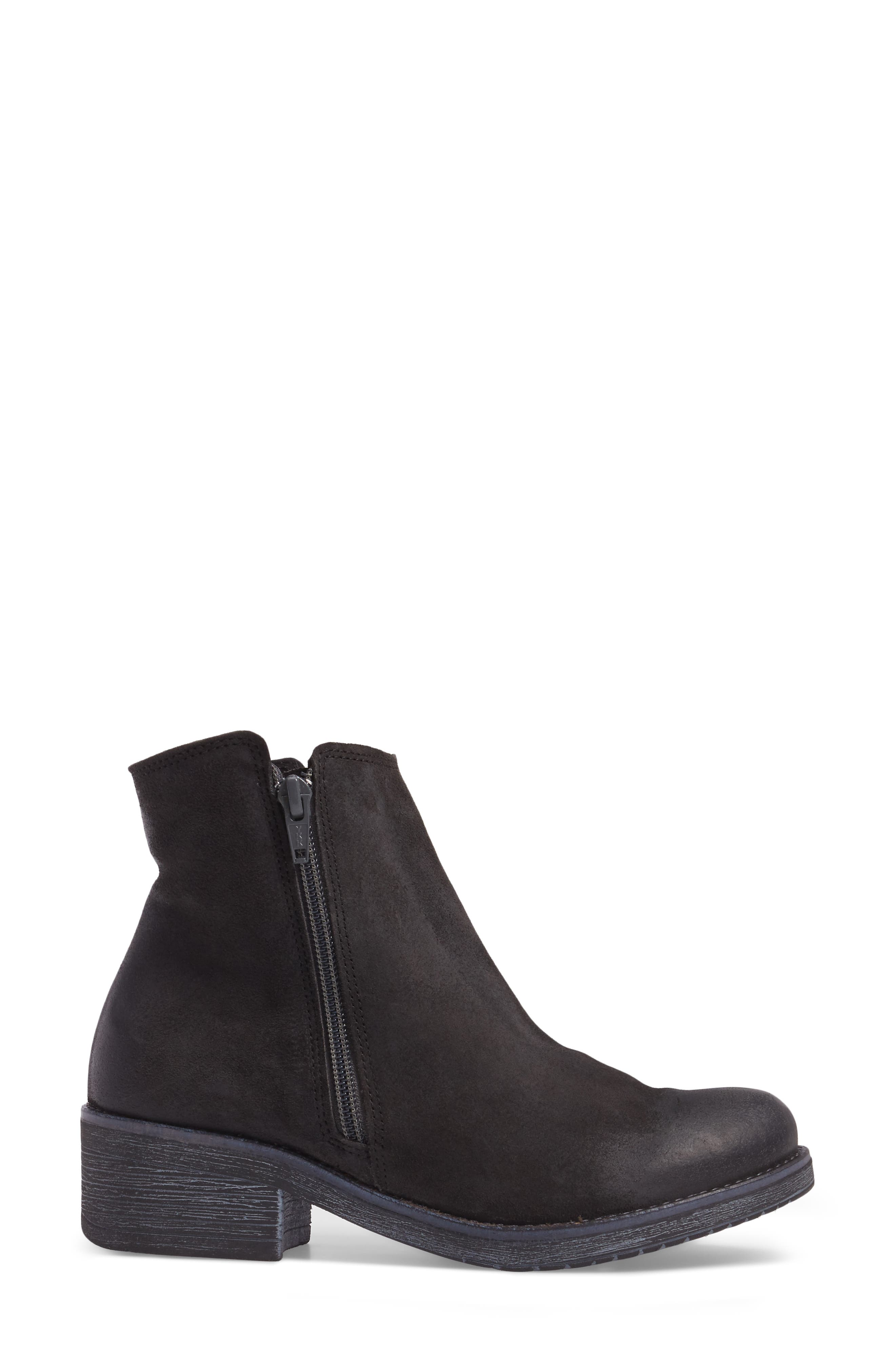 Wander Boot,                             Alternate thumbnail 3, color,                             OILY MIDNIGHT SUEDE