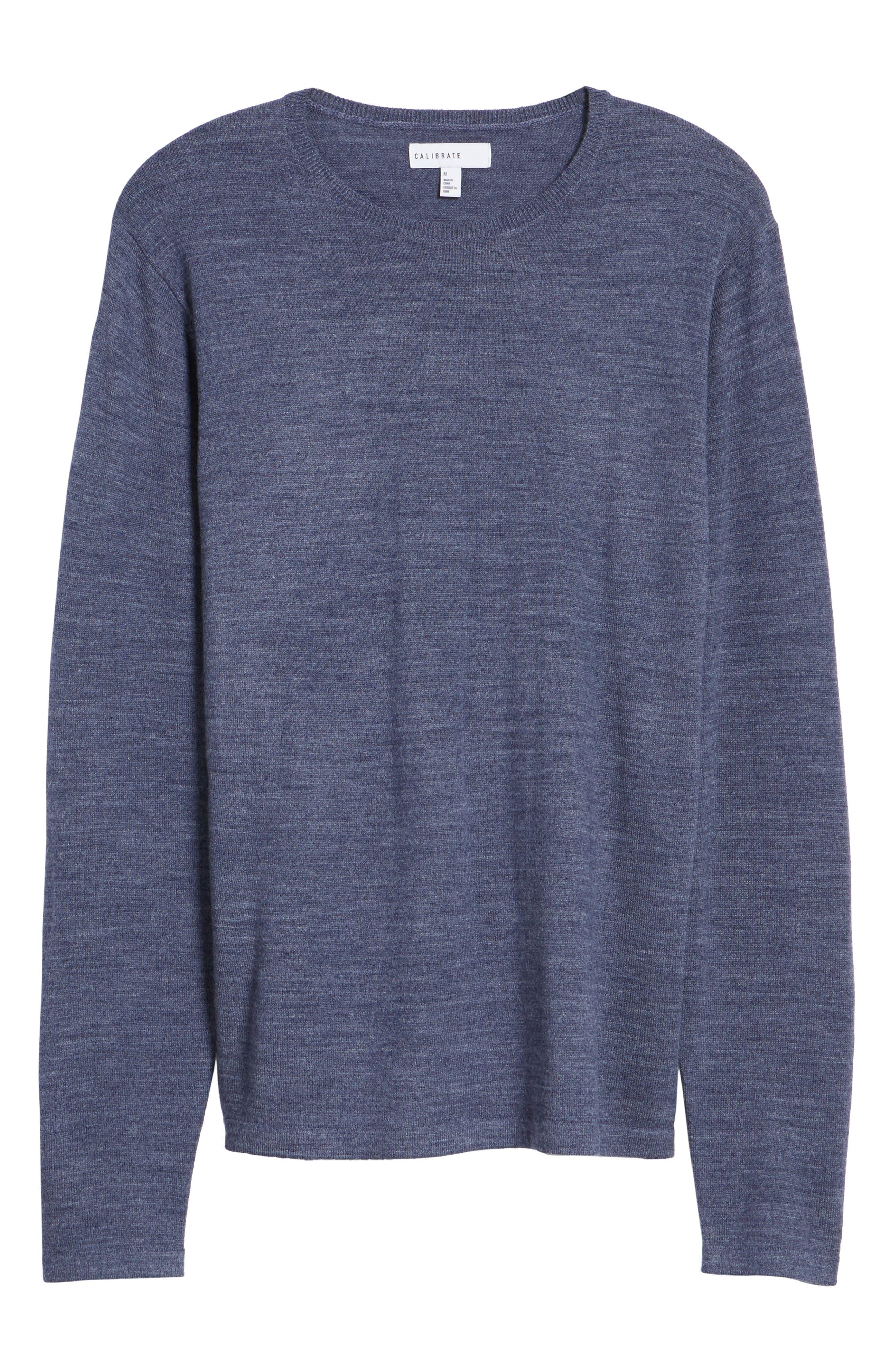 Merino Blend Crewneck Sweater,                             Alternate thumbnail 24, color,
