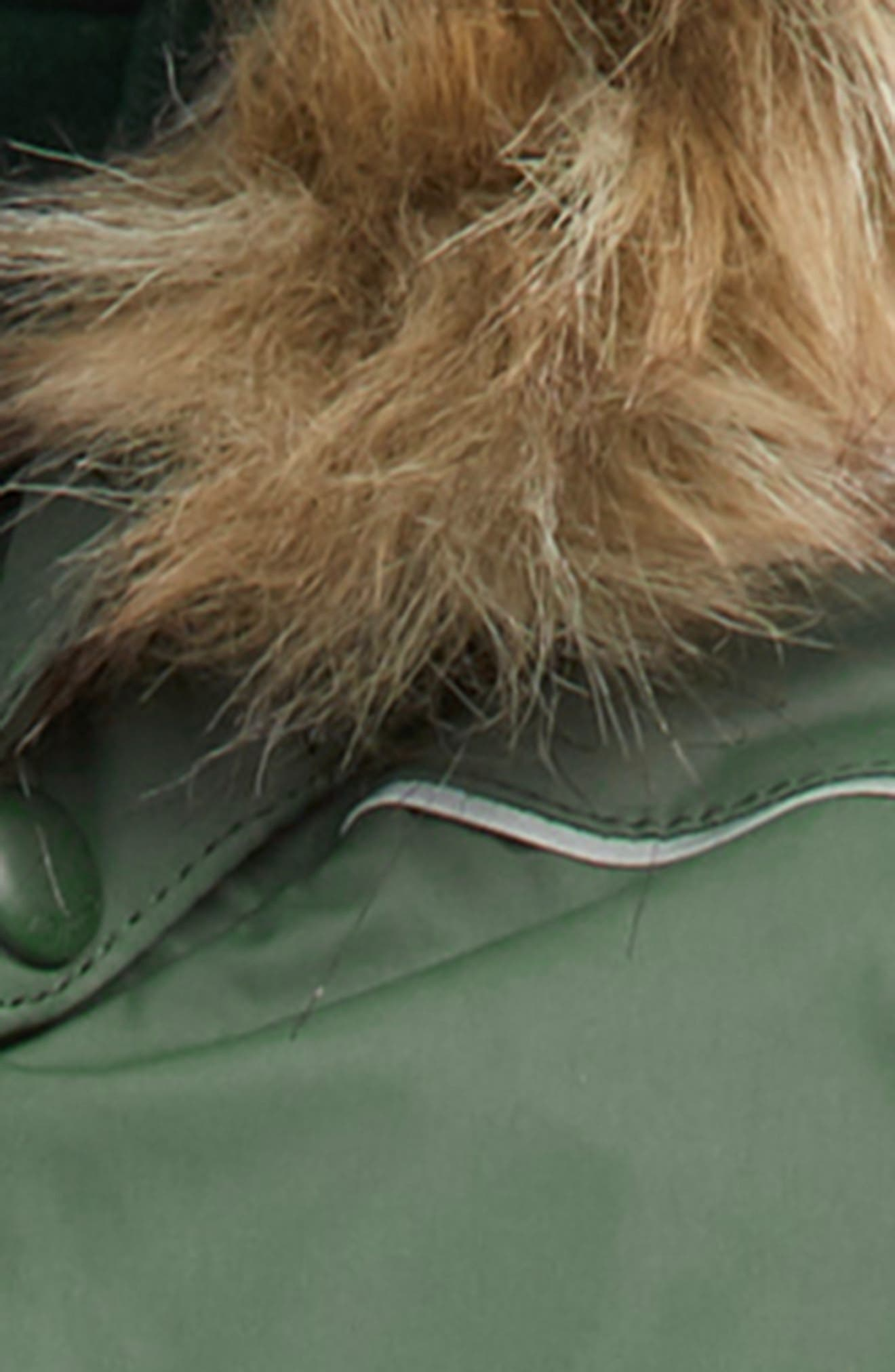 Gotland Reimatec<sup>®</sup> Waterproof Insulated Snow Suit with Faux Fur Trim,                             Alternate thumbnail 2, color,                             GREEN
