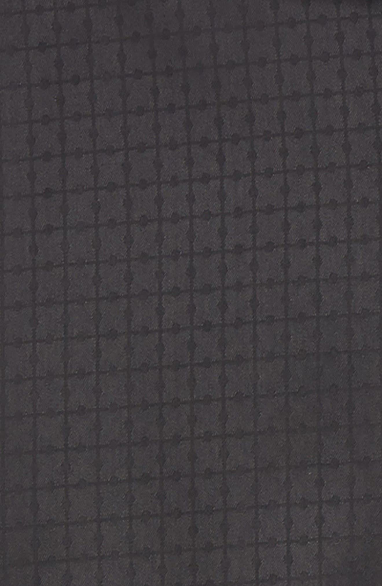 Shaped Fit Sport Shirt,                             Alternate thumbnail 6, color,                             BLACK
