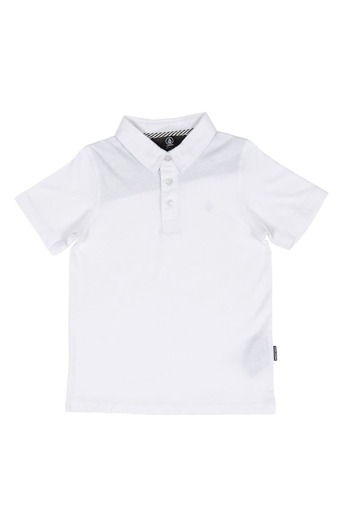 Wowzer Polo,                         Main,                         color, WHITE
