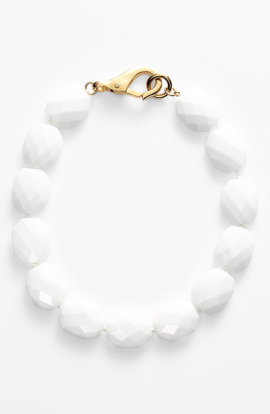LAUREN RALPH LAUREN Stone Collar Necklace, Main, color, 100