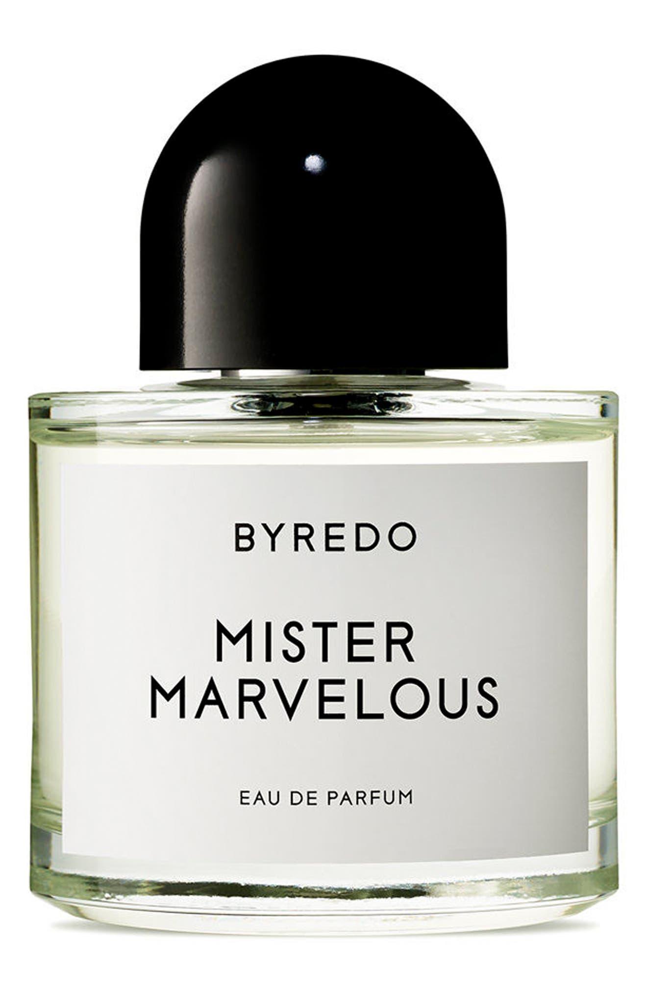 BYREDO,                             Mister Marvelous Eau de Parfum,                             Main thumbnail 1, color,                             NO COLOR