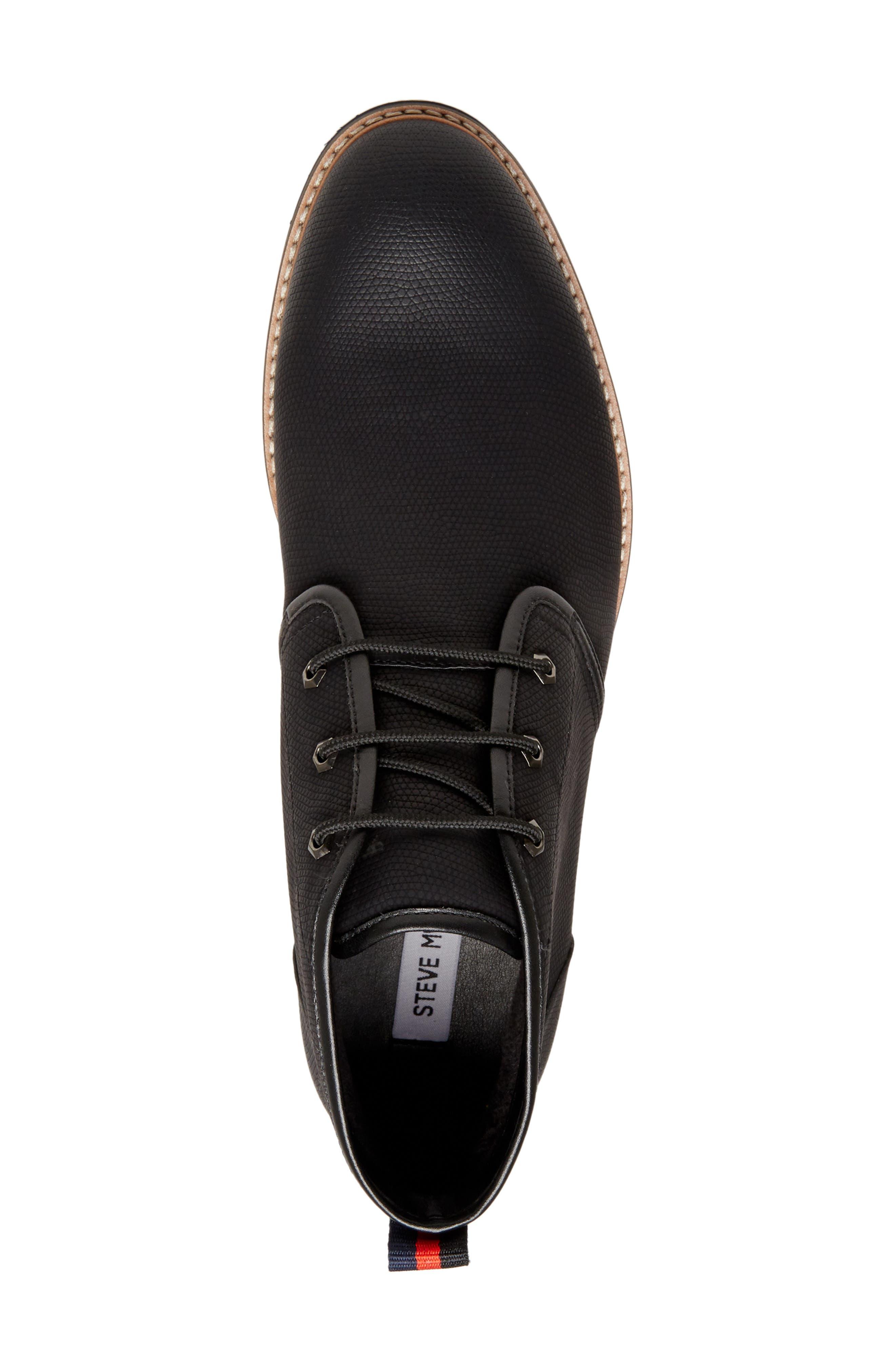 Nurture Plain Toe Boot,                             Alternate thumbnail 5, color,                             BLACK