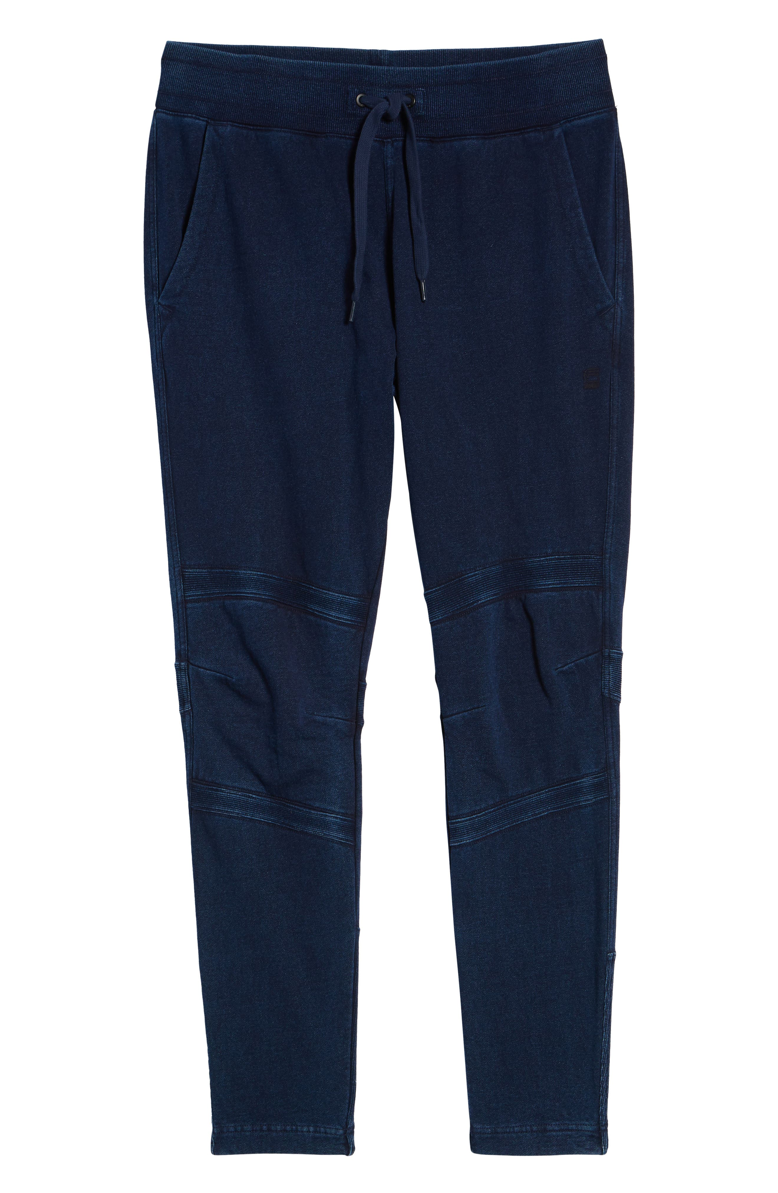 G-STAR RAW,                             Motac-X Slim Fit Sweat Pants,                             Alternate thumbnail 6, color,                             001