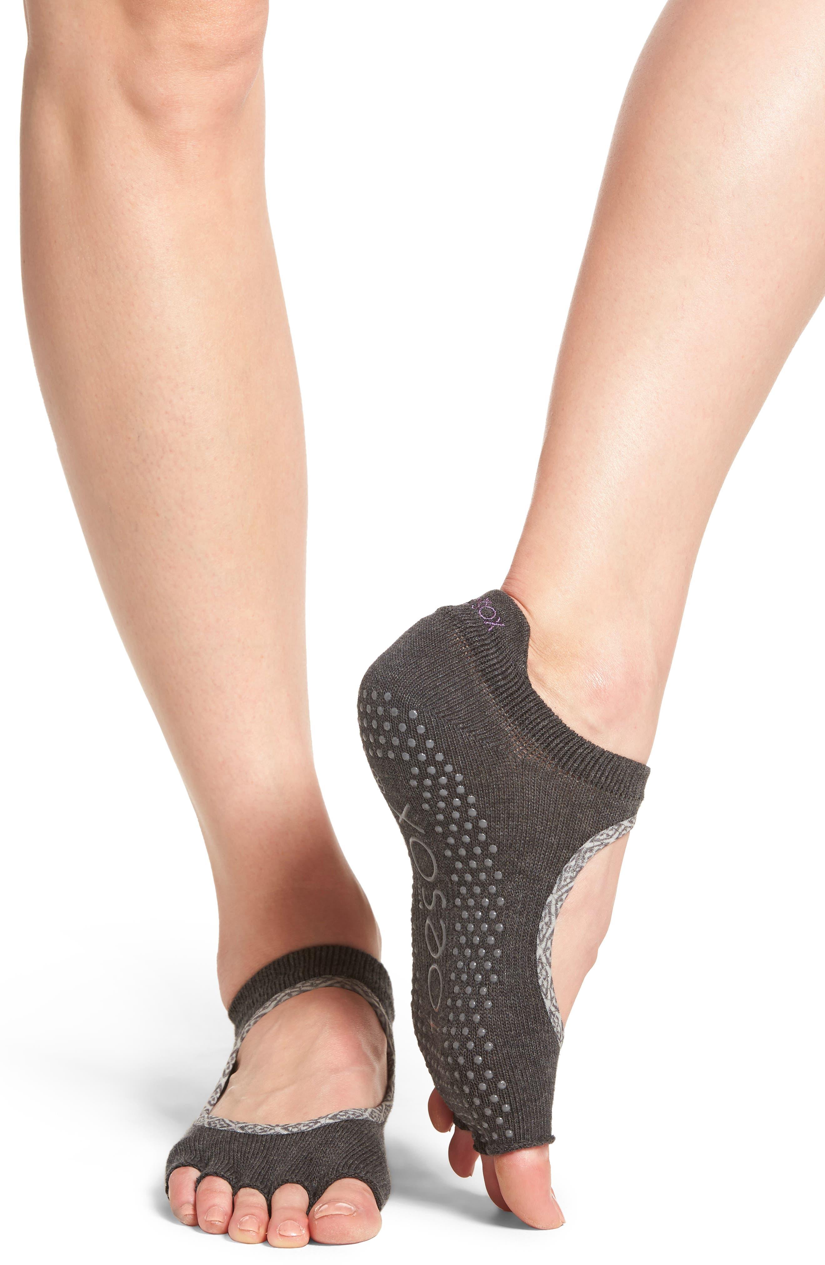 Bellarine Half Toe Gripper Socks,                             Alternate thumbnail 2, color,                             020