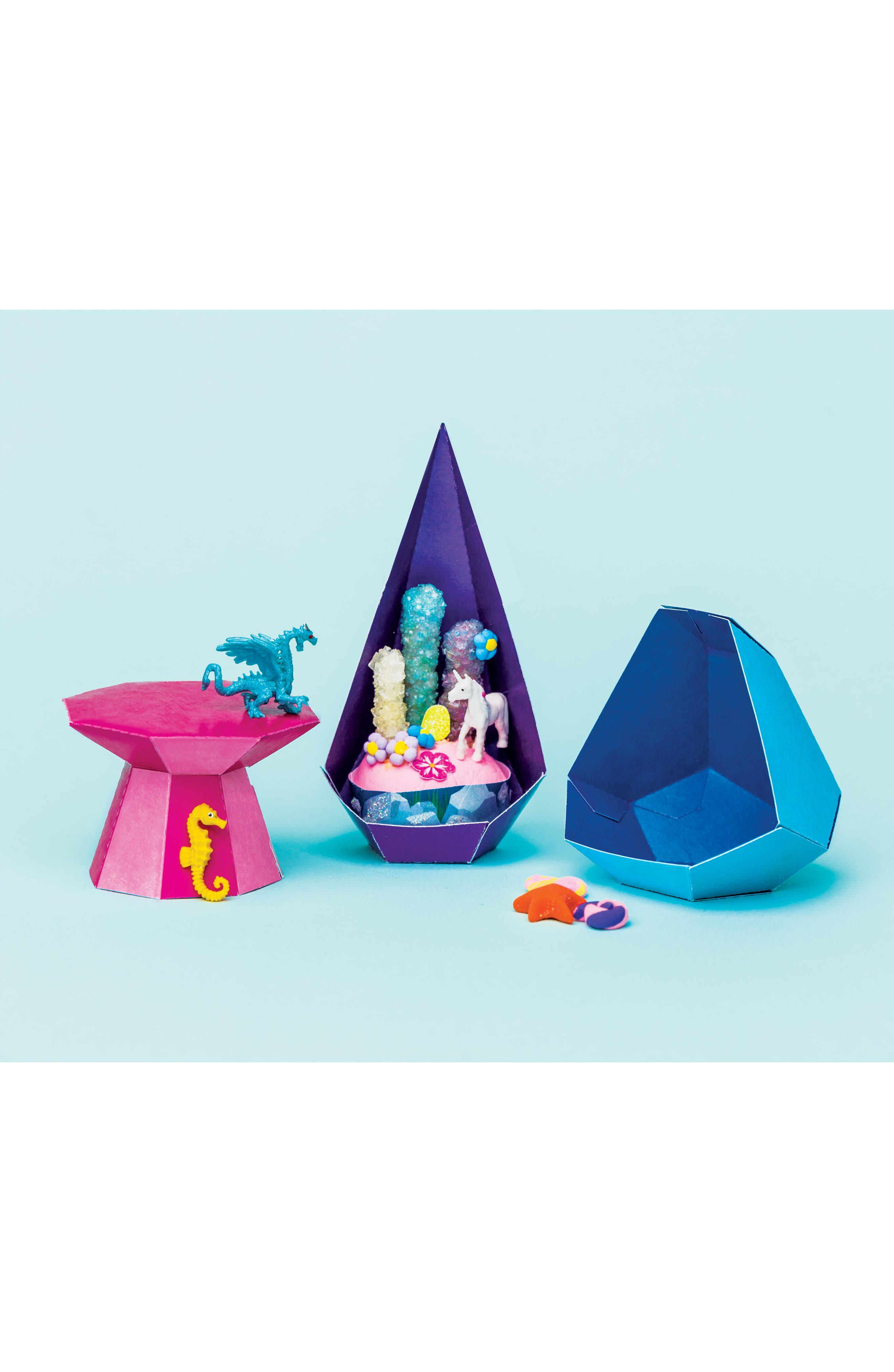 Grow Your Own Crystal Mini Worlds Kit,                             Alternate thumbnail 7, color,                             500