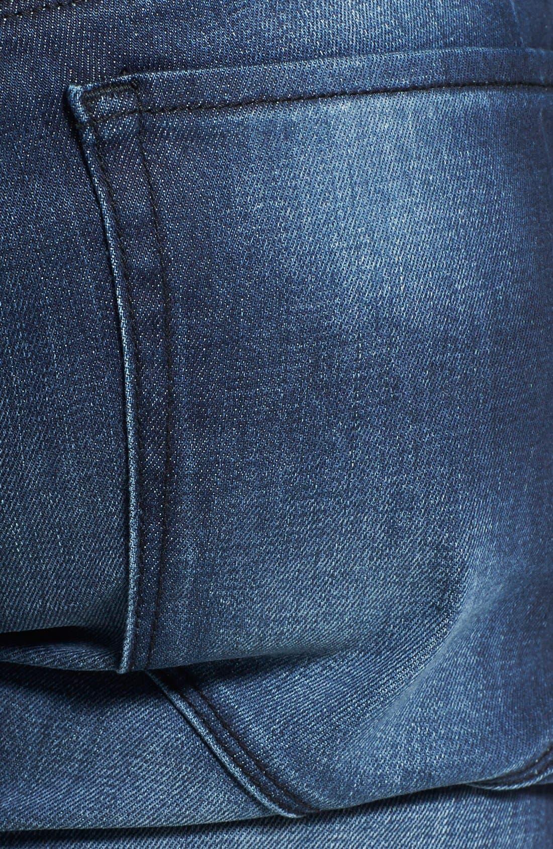 HUGO '708' Slim Fit Jeans,                             Alternate thumbnail 8, color,