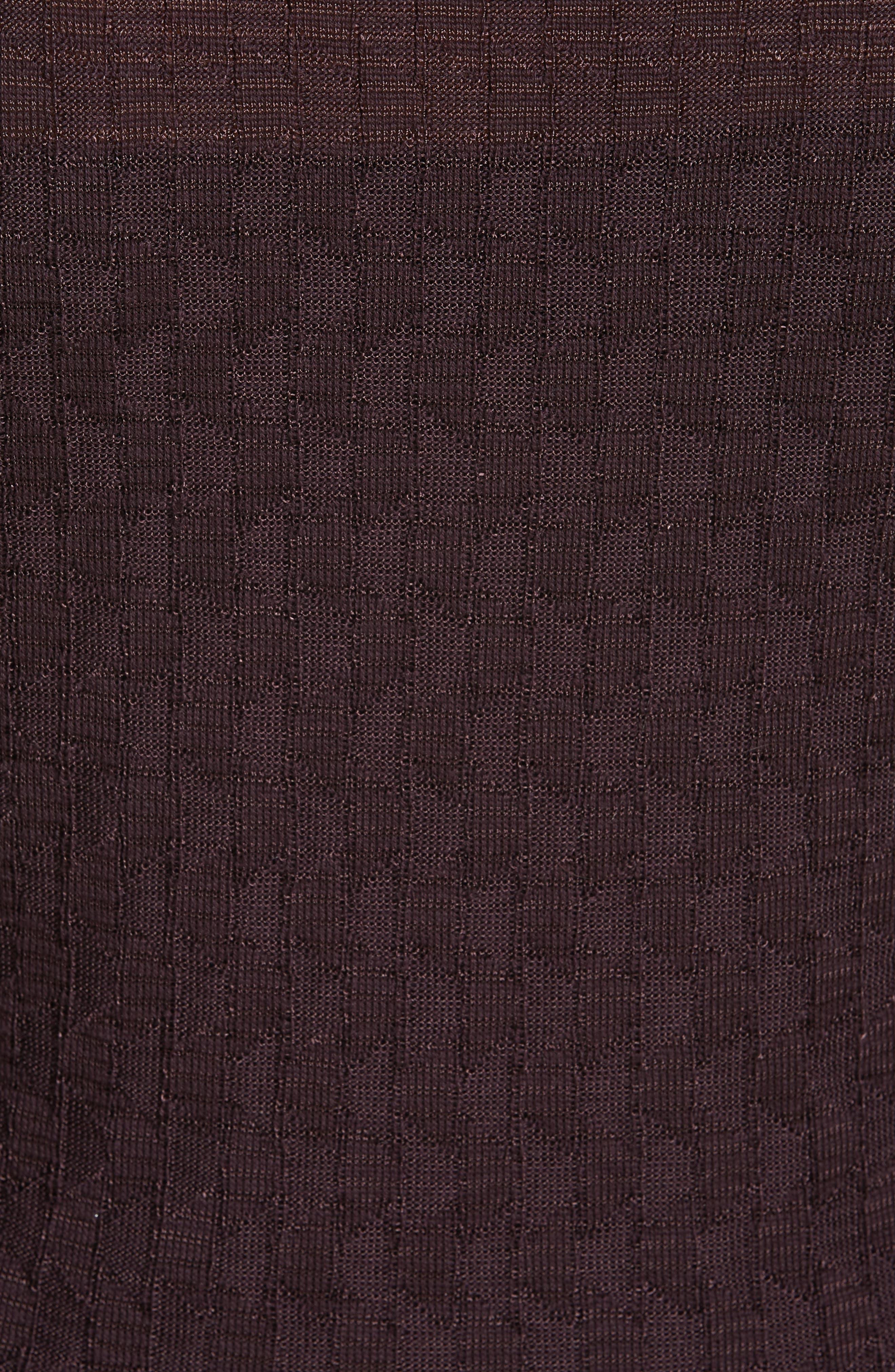 Wool Blend Knit A-Line Dress,                             Alternate thumbnail 5, color,                             570