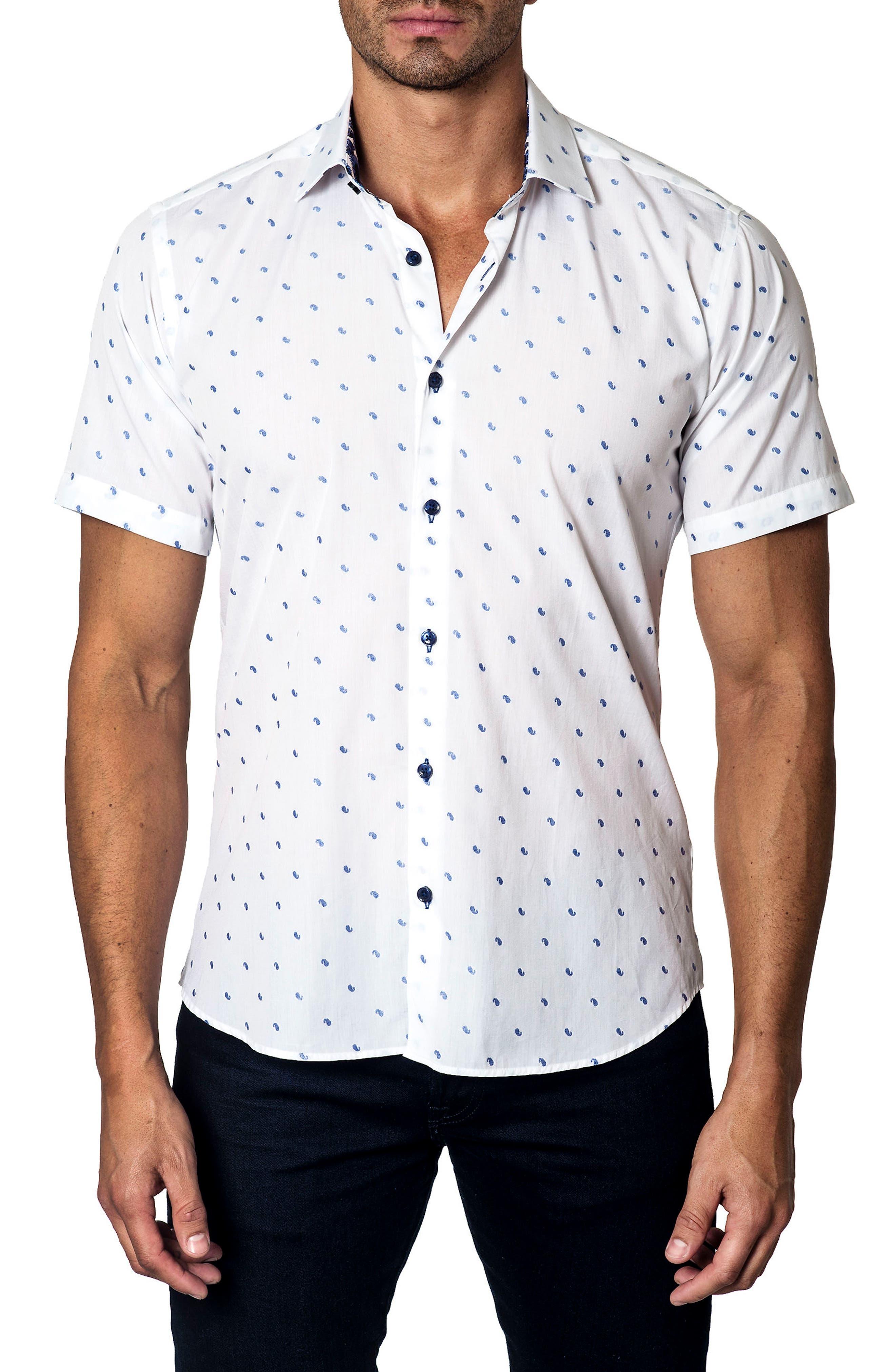 Print Sport Shirt,                         Main,                         color, 100