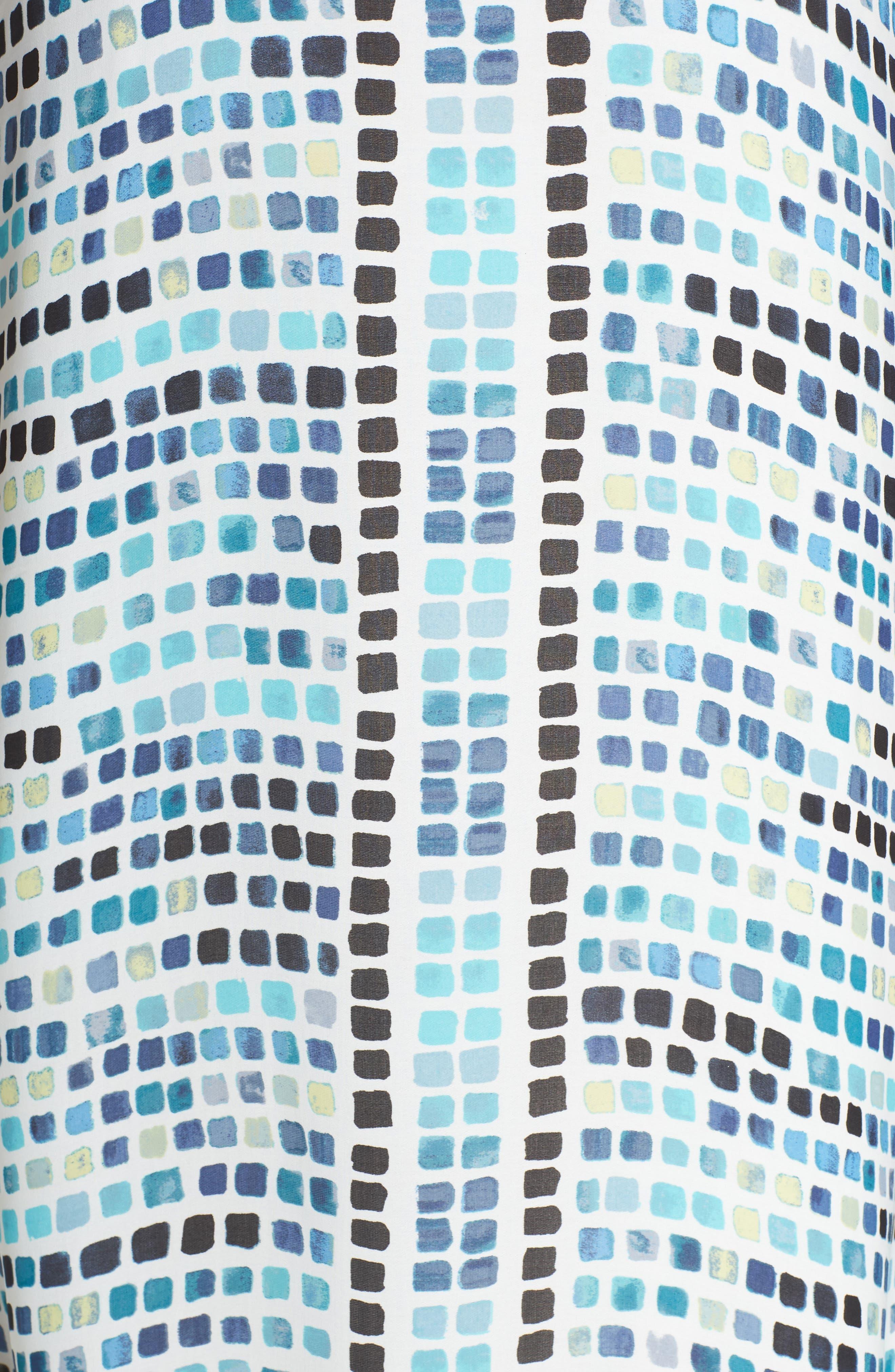Color Wave Maxi Dress,                             Alternate thumbnail 5, color,                             490