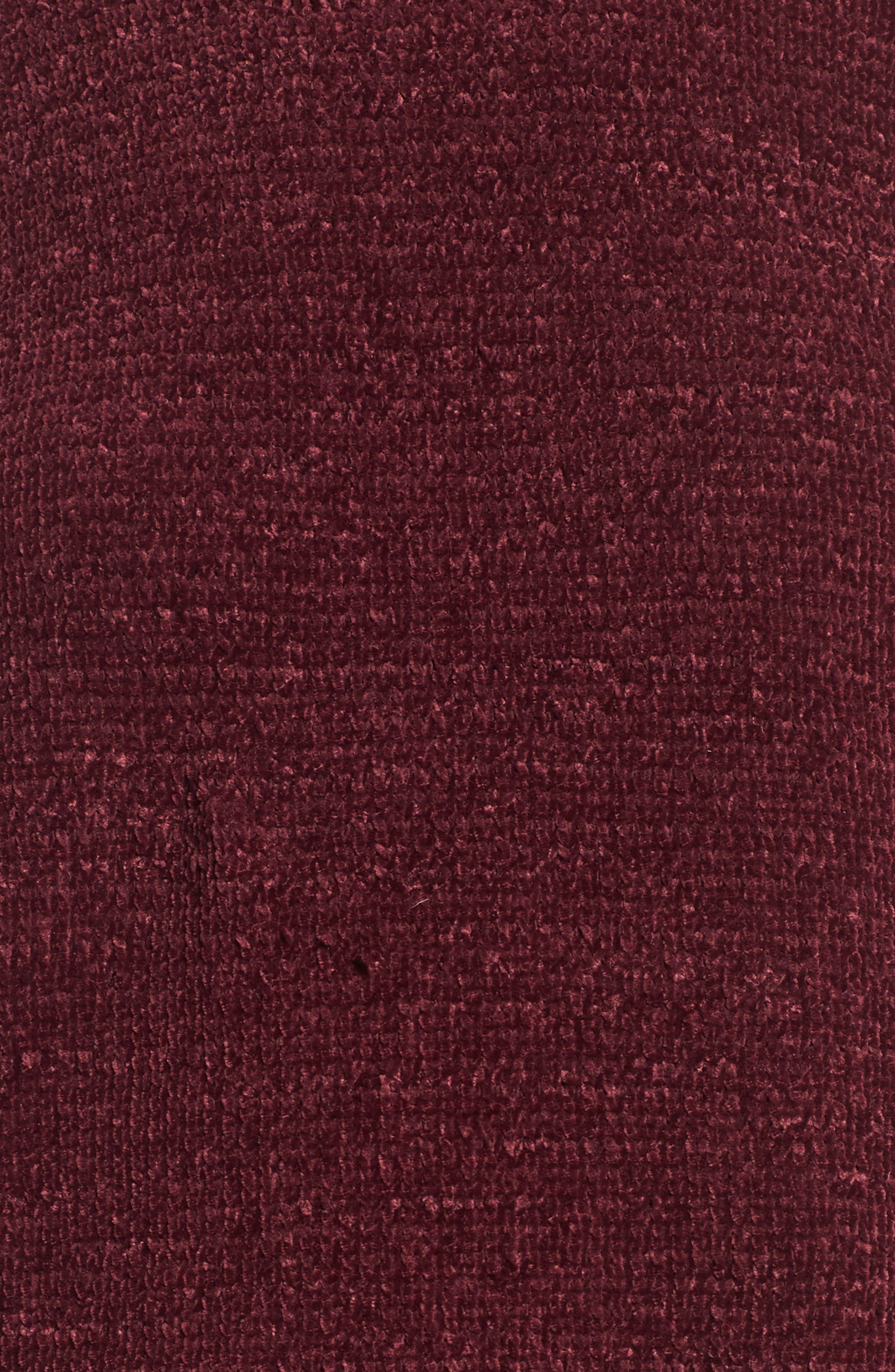 Ruffle Chenille Sweater,                             Alternate thumbnail 10, color,