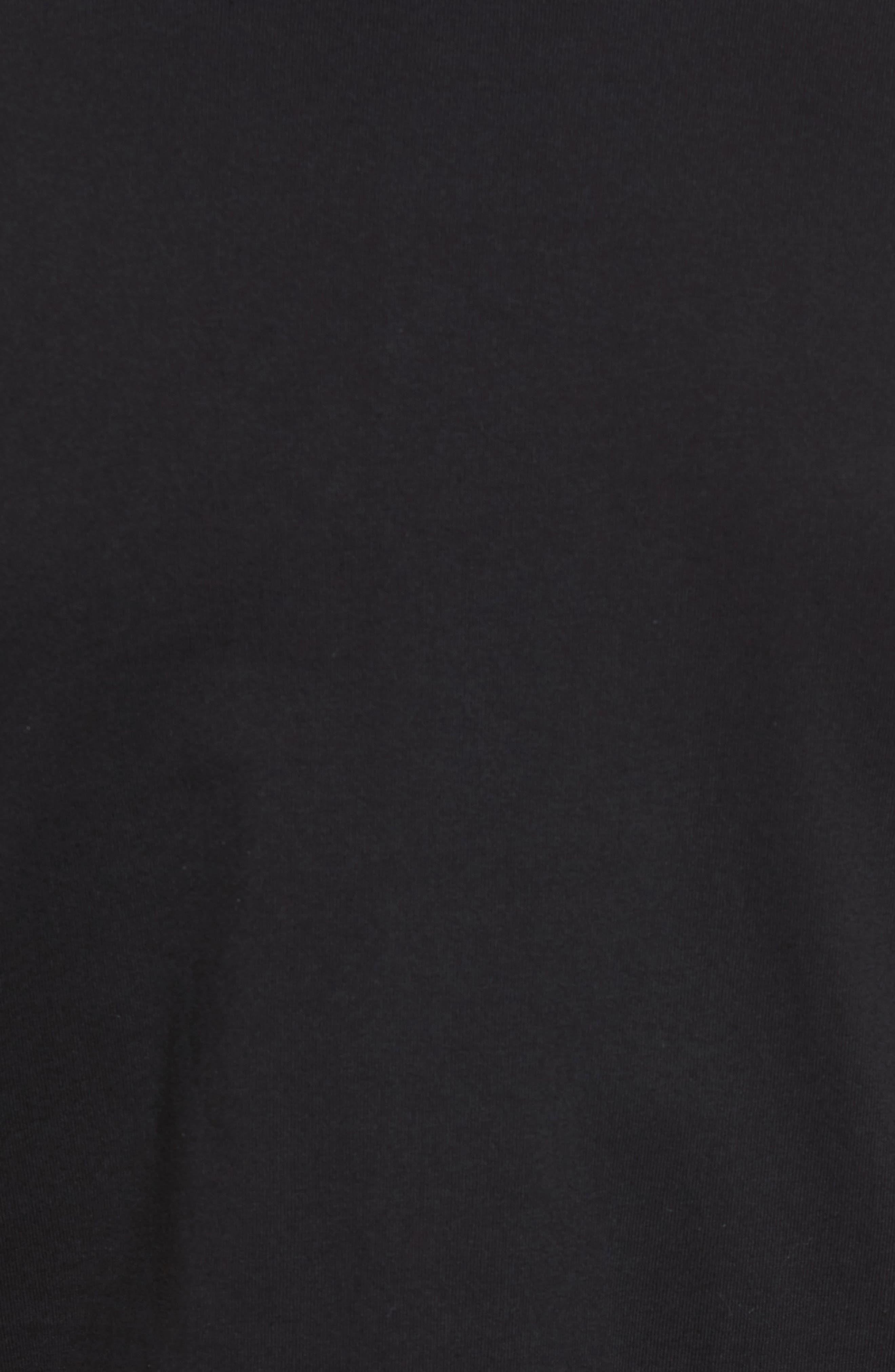 Textured Camo Graphic T-Shirt,                             Alternate thumbnail 5, color,                             001