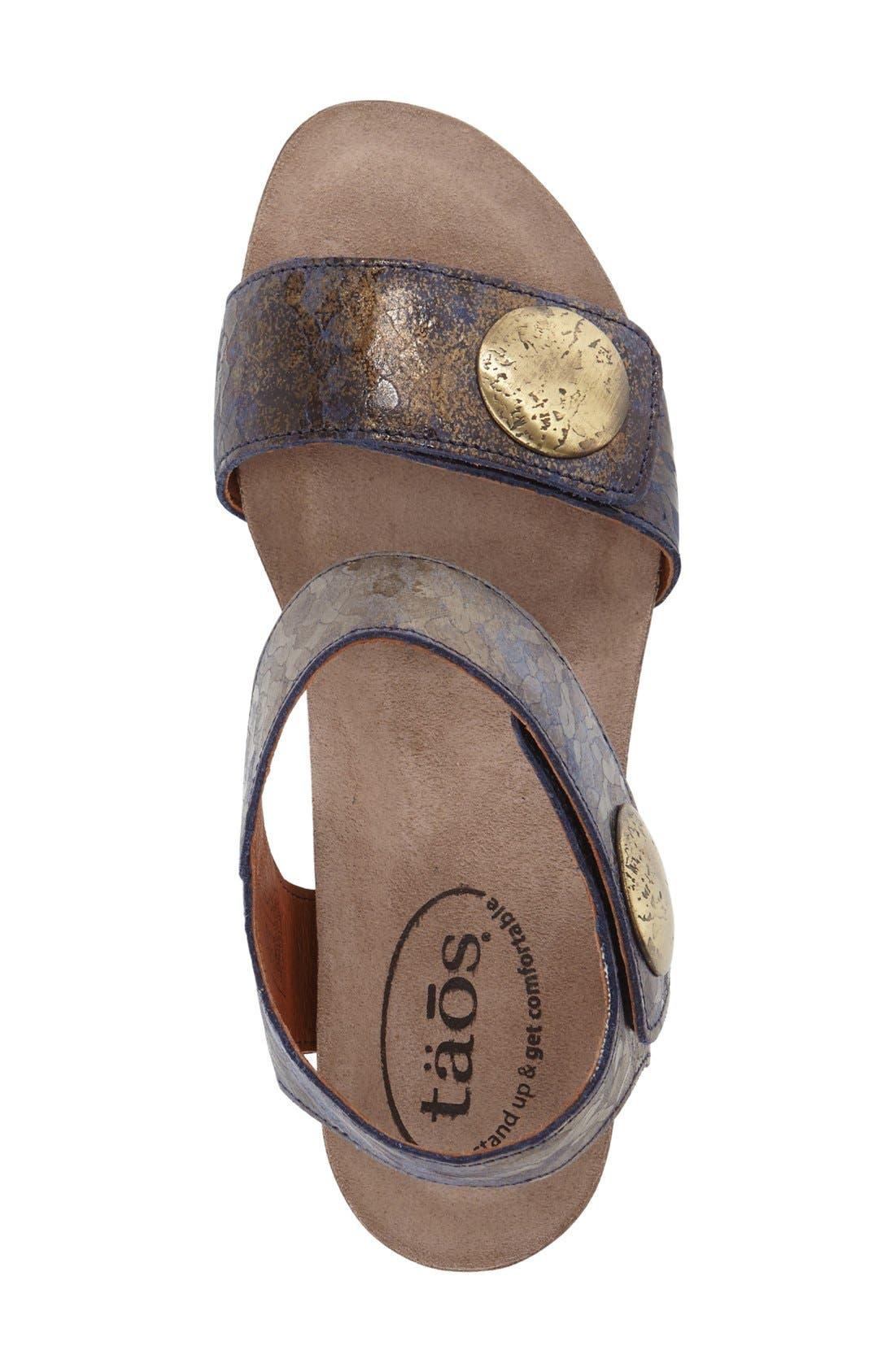 'Carousel 2' Wedge Sandal,                             Alternate thumbnail 43, color,
