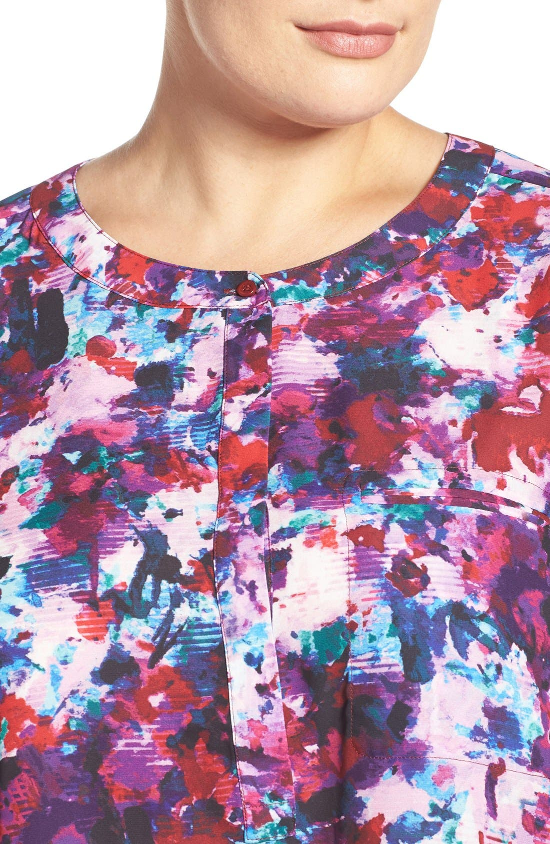 Henley Top,                             Alternate thumbnail 322, color,