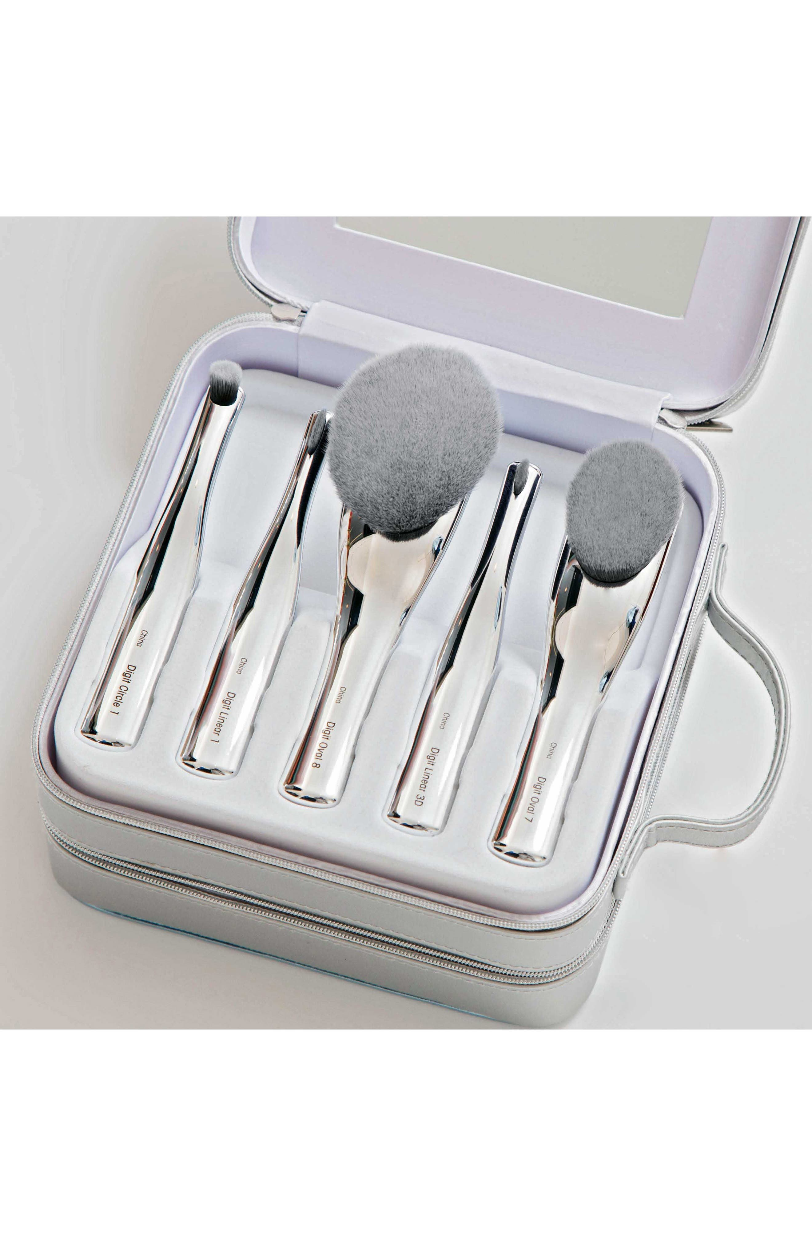 The Digit 10 Brush Set in Luxury Case,                         Main,                         color, 000