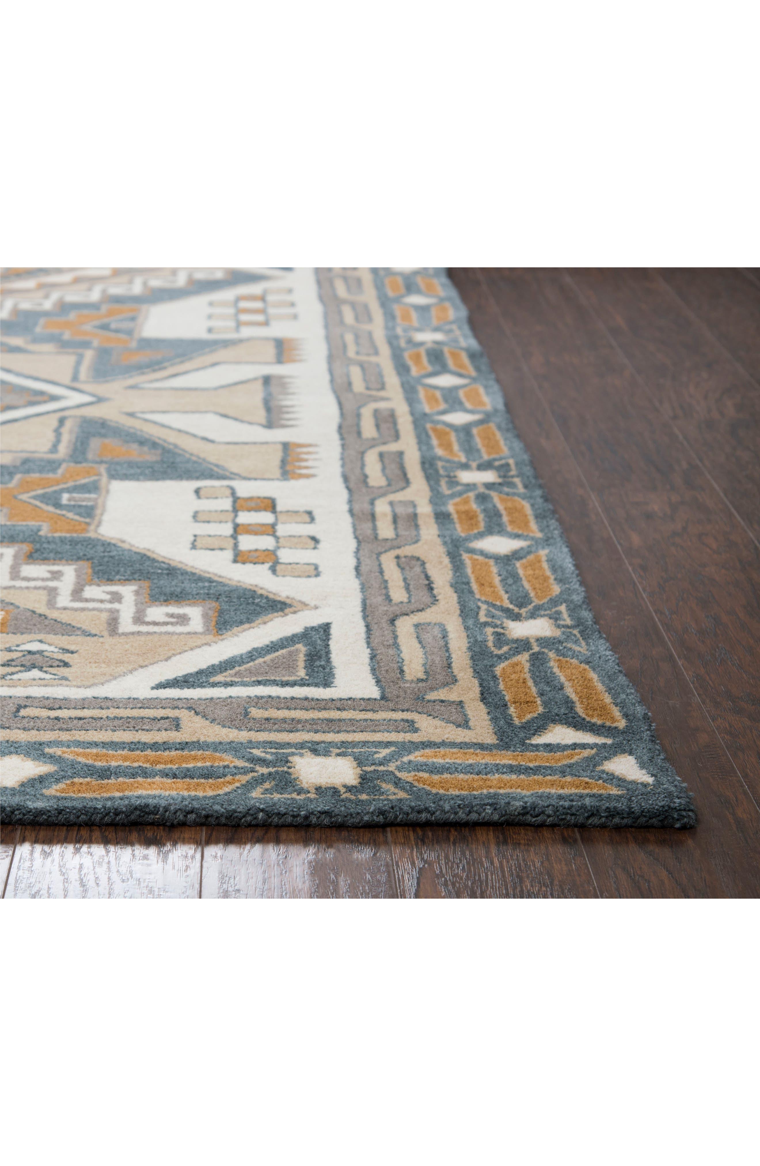 Urban Tiles Hand Tufted Wool Rug,                             Alternate thumbnail 3, color,                             220