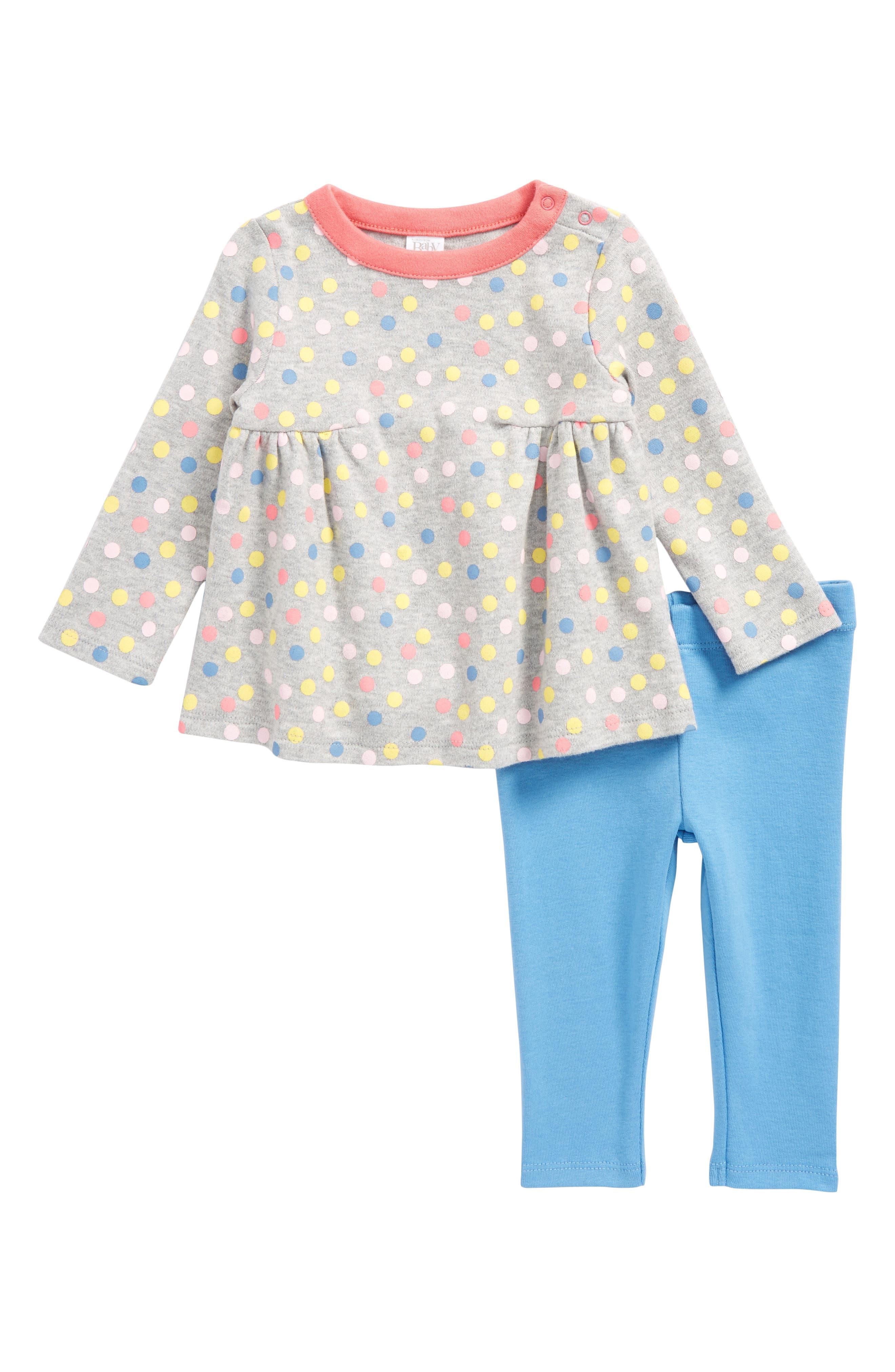Printed Tunic & Leggings Set,                         Main,                         color,