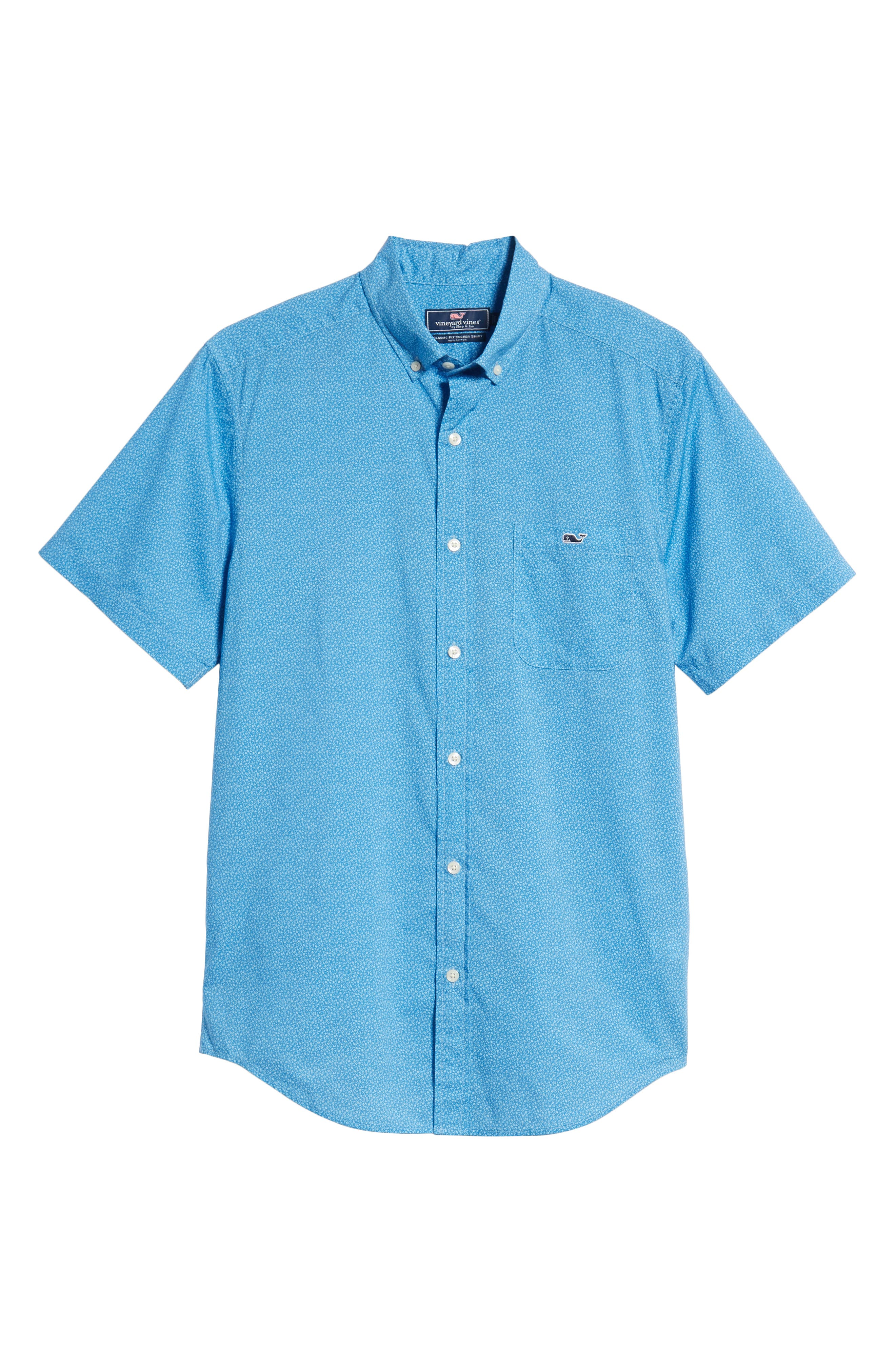 Seagulls Tucker Slim Fit Sport Shirt,                             Alternate thumbnail 6, color,                             400