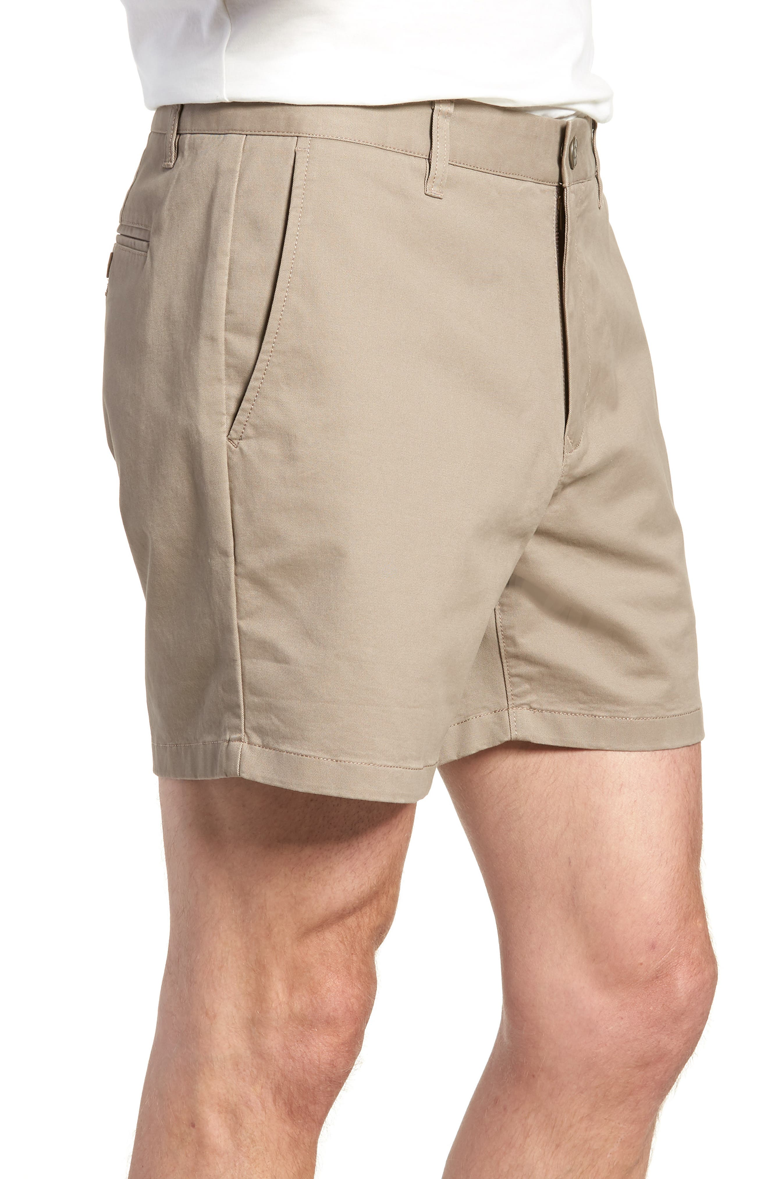 Stretch Washed Chino 5-Inch Shorts,                             Alternate thumbnail 58, color,