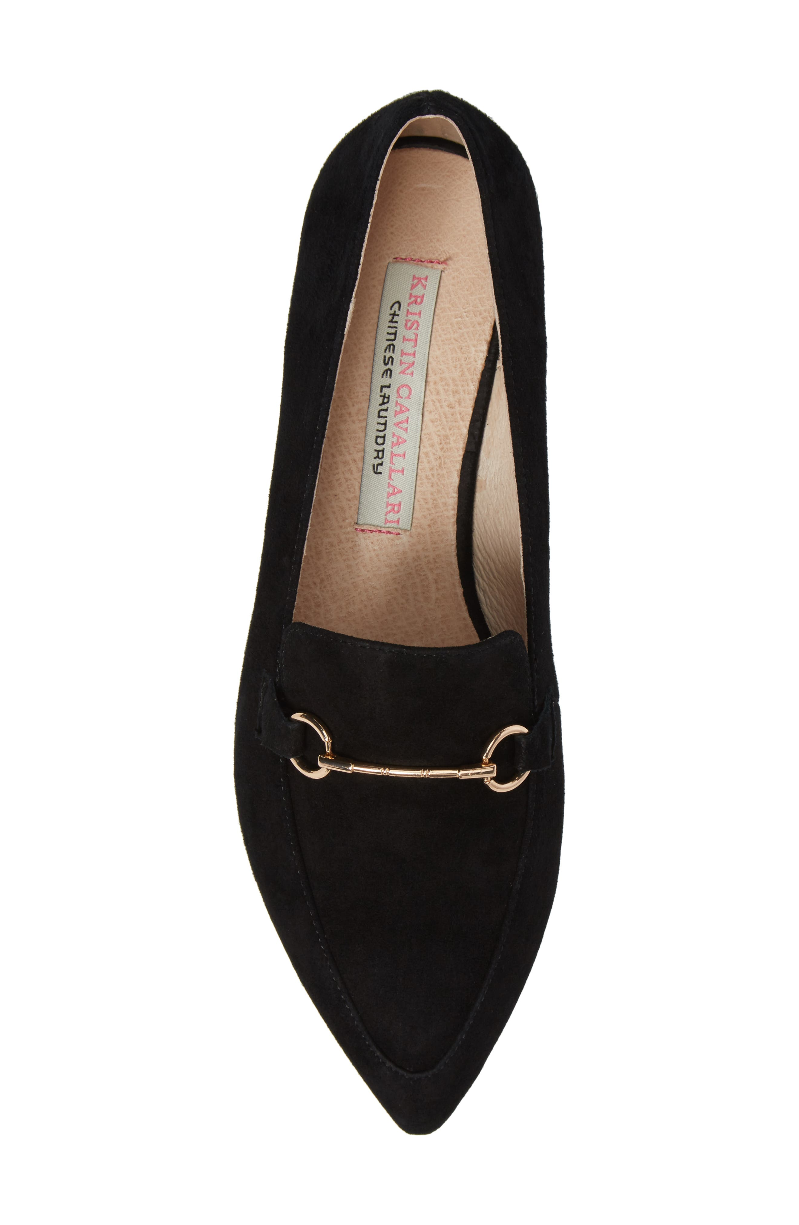 Cambrie Loafer Flat,                             Alternate thumbnail 5, color,                             001