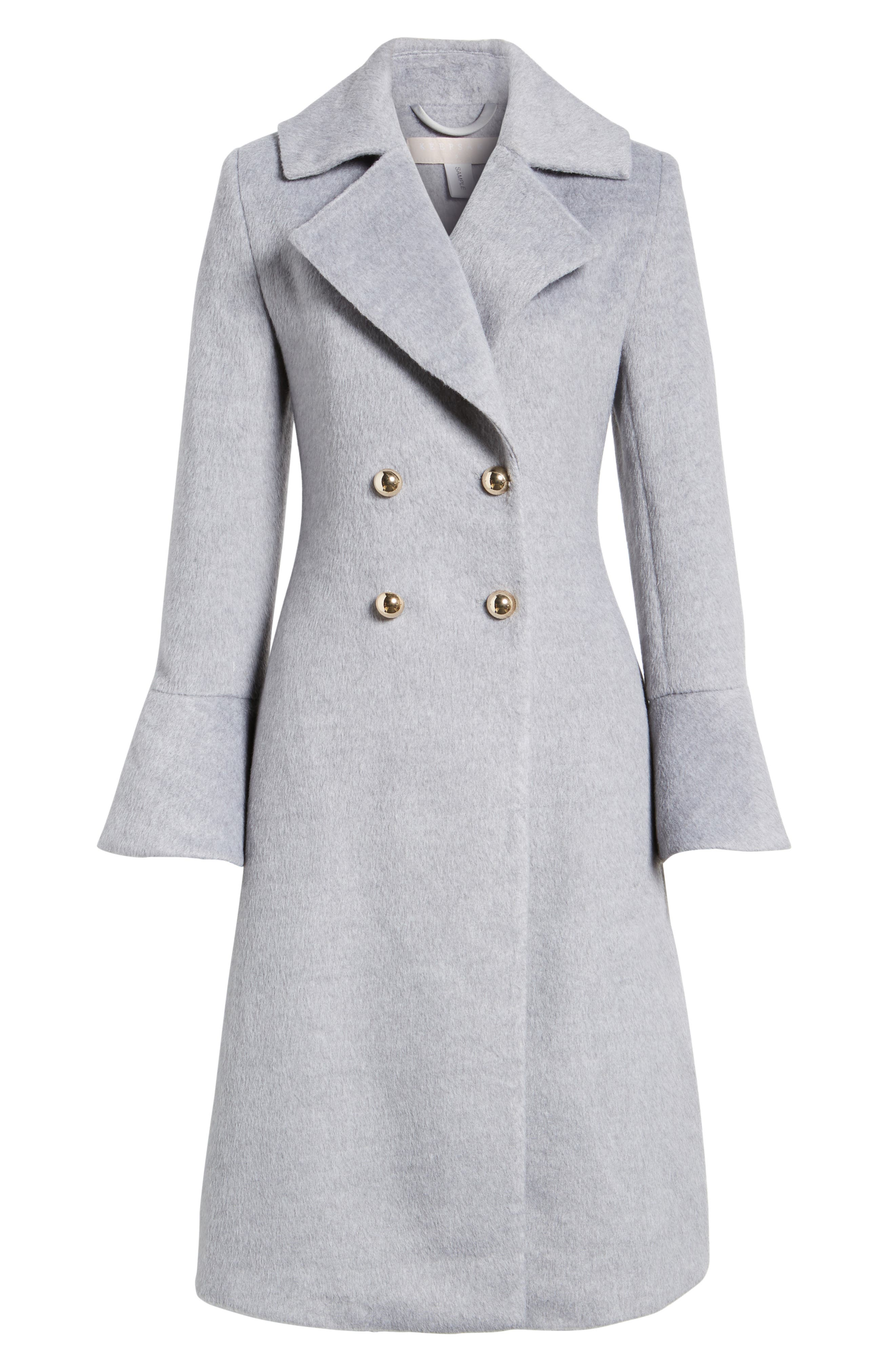 Intuition Water Repellent Coat,                             Alternate thumbnail 5, color,                             020