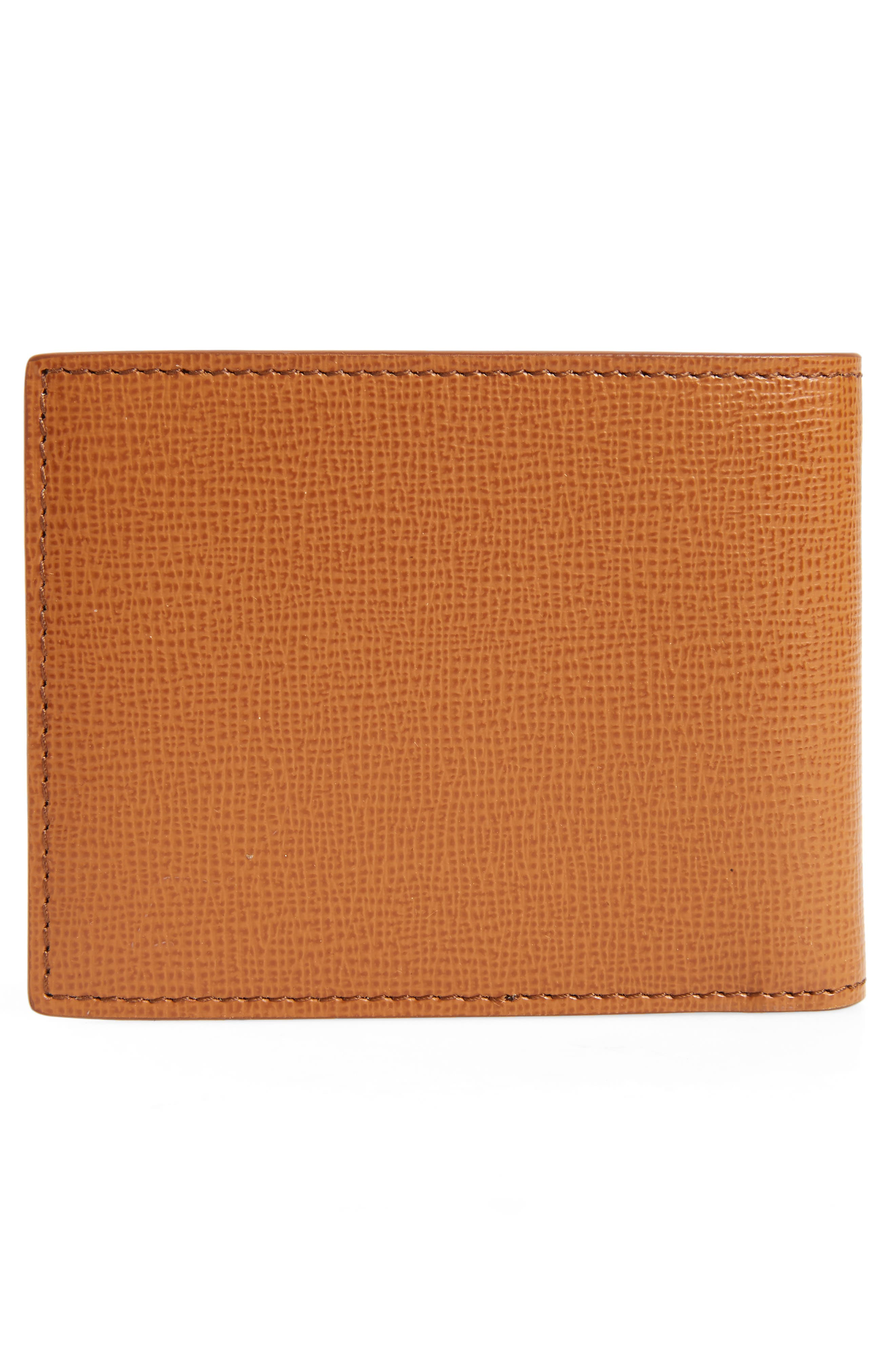 Leather Bifold Wallet,                             Alternate thumbnail 3, color,                             250