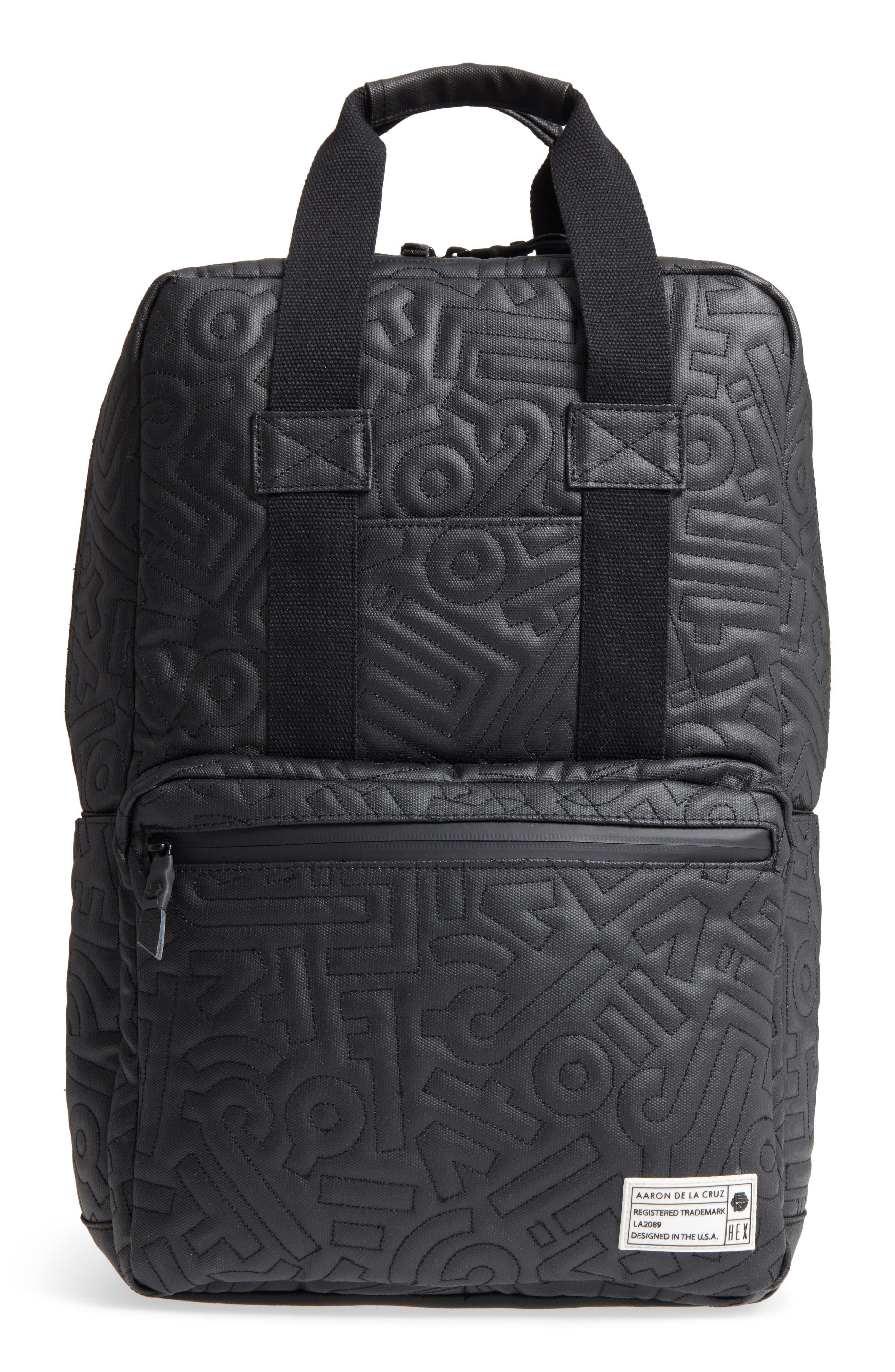 x Aaron De La Cruz Convertible Backpack,                         Main,                         color, 003