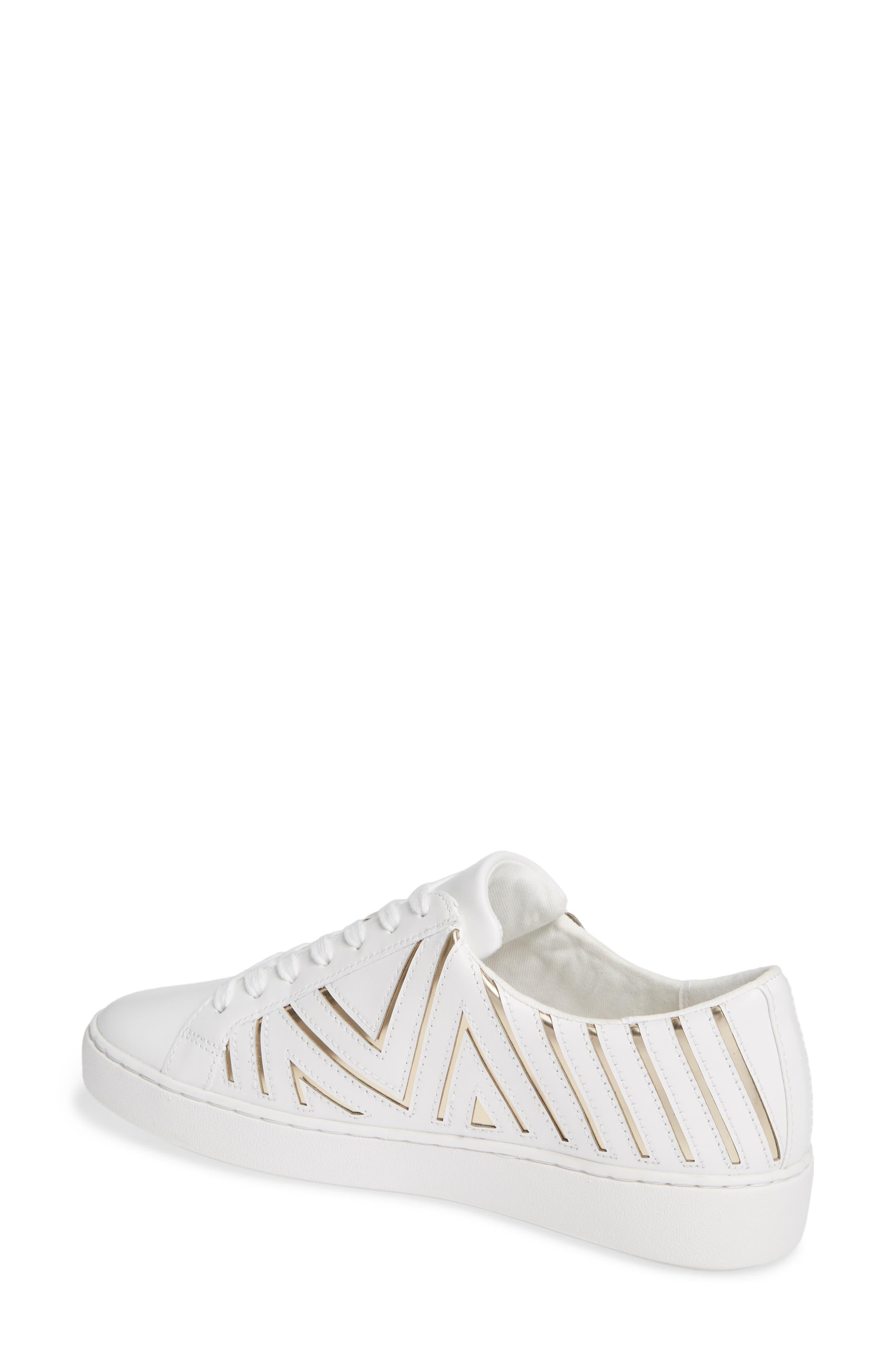 MICHAEL MICHAEL KORS,                             Whitney Sneaker,                             Alternate thumbnail 2, color,                             100