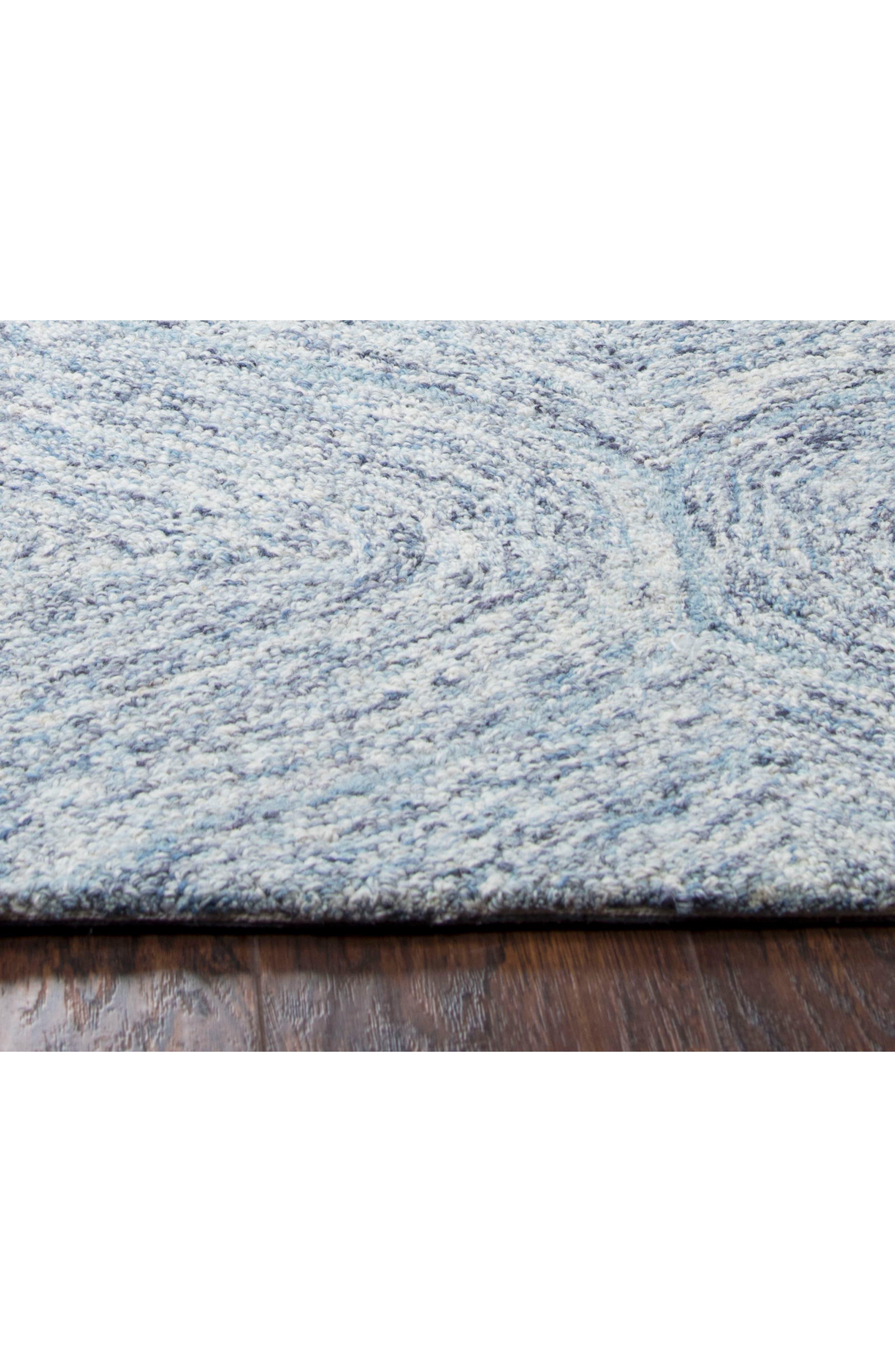 Irregular Diamond Hand Tufted Wool Area Rug,                             Alternate thumbnail 20, color,