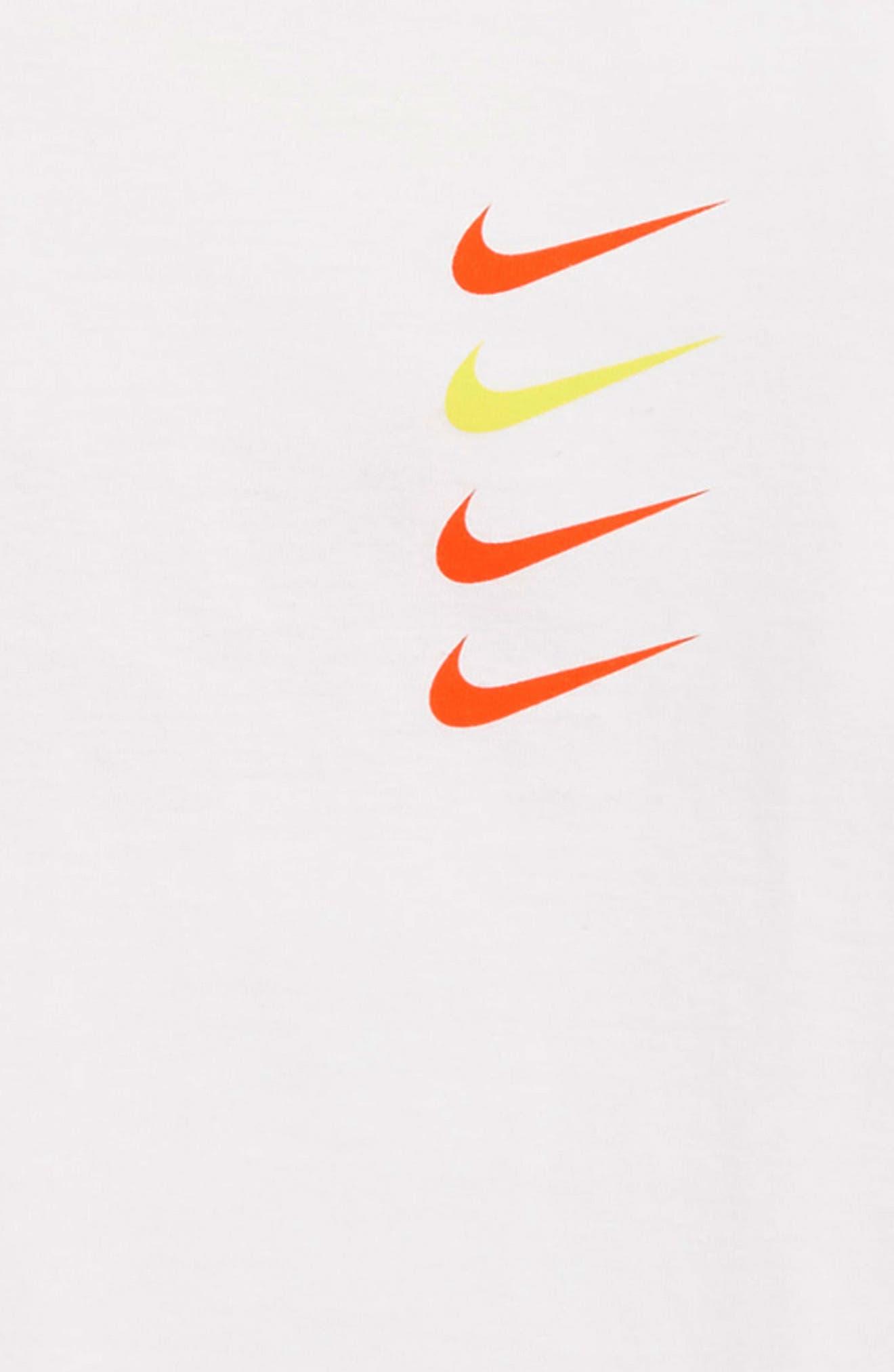 Sportswear Logo T-Shirt,                             Alternate thumbnail 3, color,                             WHITE