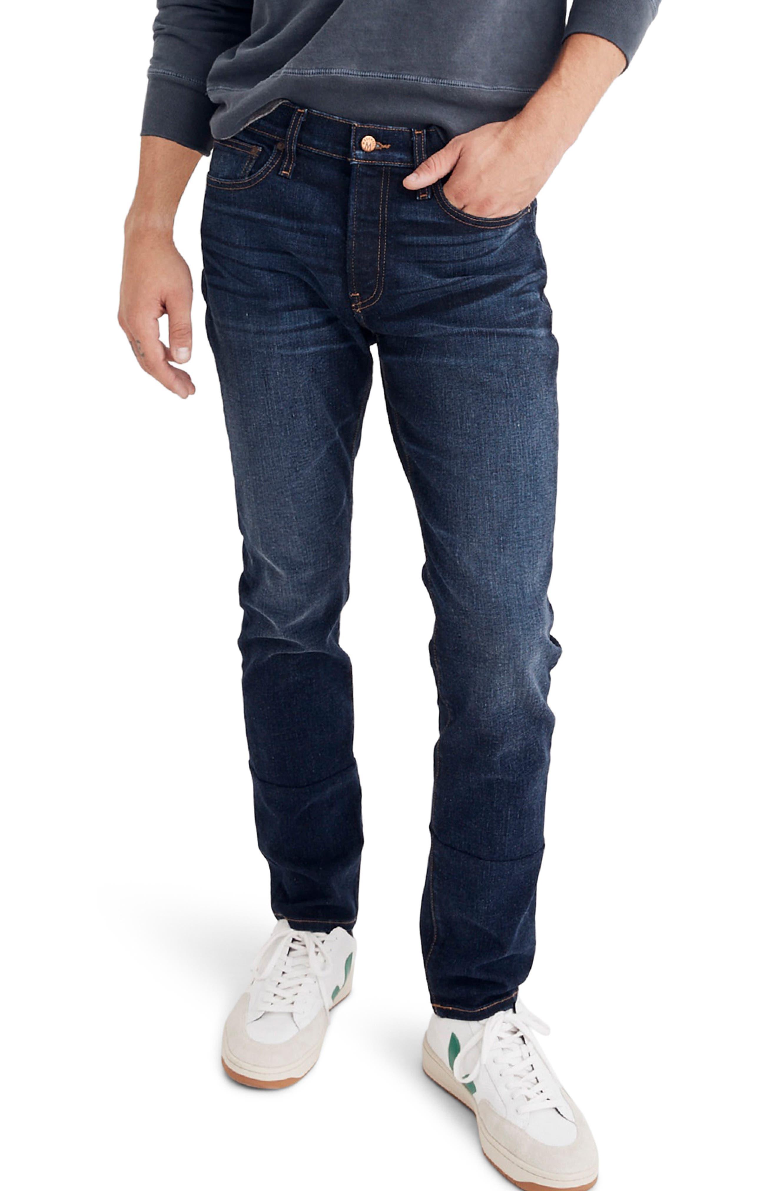 Slim Fit Jeans,                         Main,                         color, BAXLEY