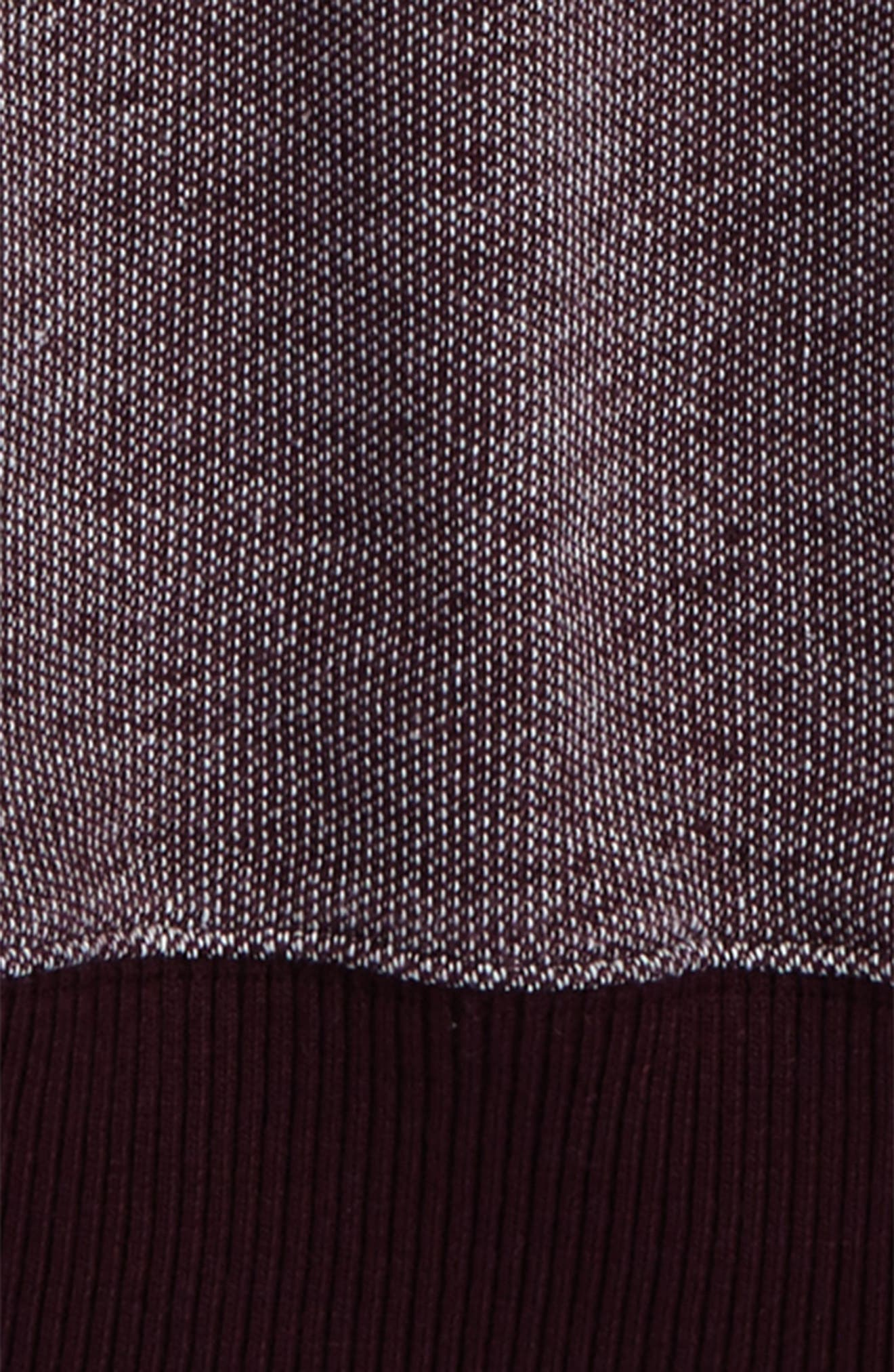 Brushed Fleece Pullover,                             Alternate thumbnail 4, color,