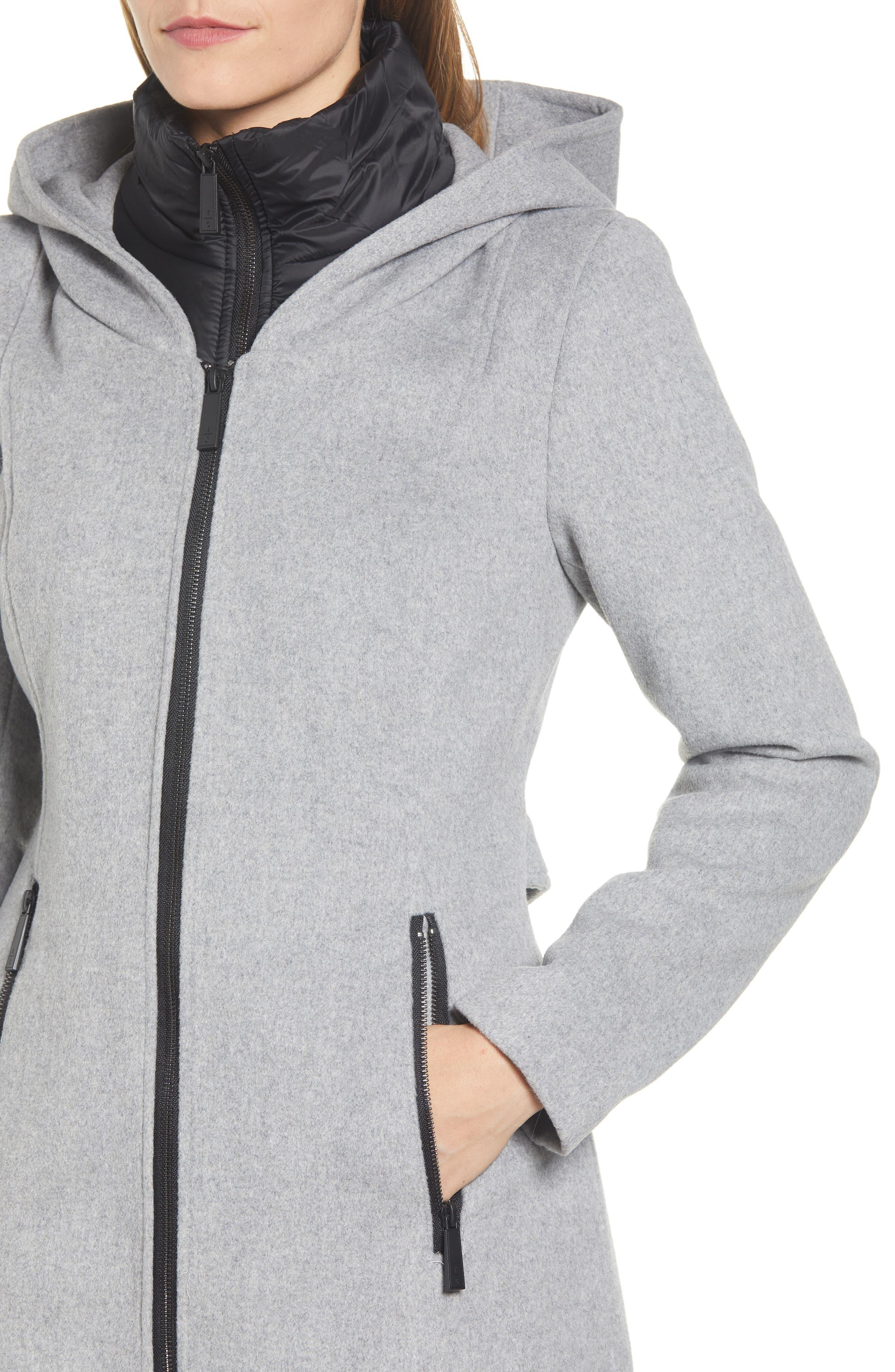 Hooded Twill Coat,                             Alternate thumbnail 4, color,                             033