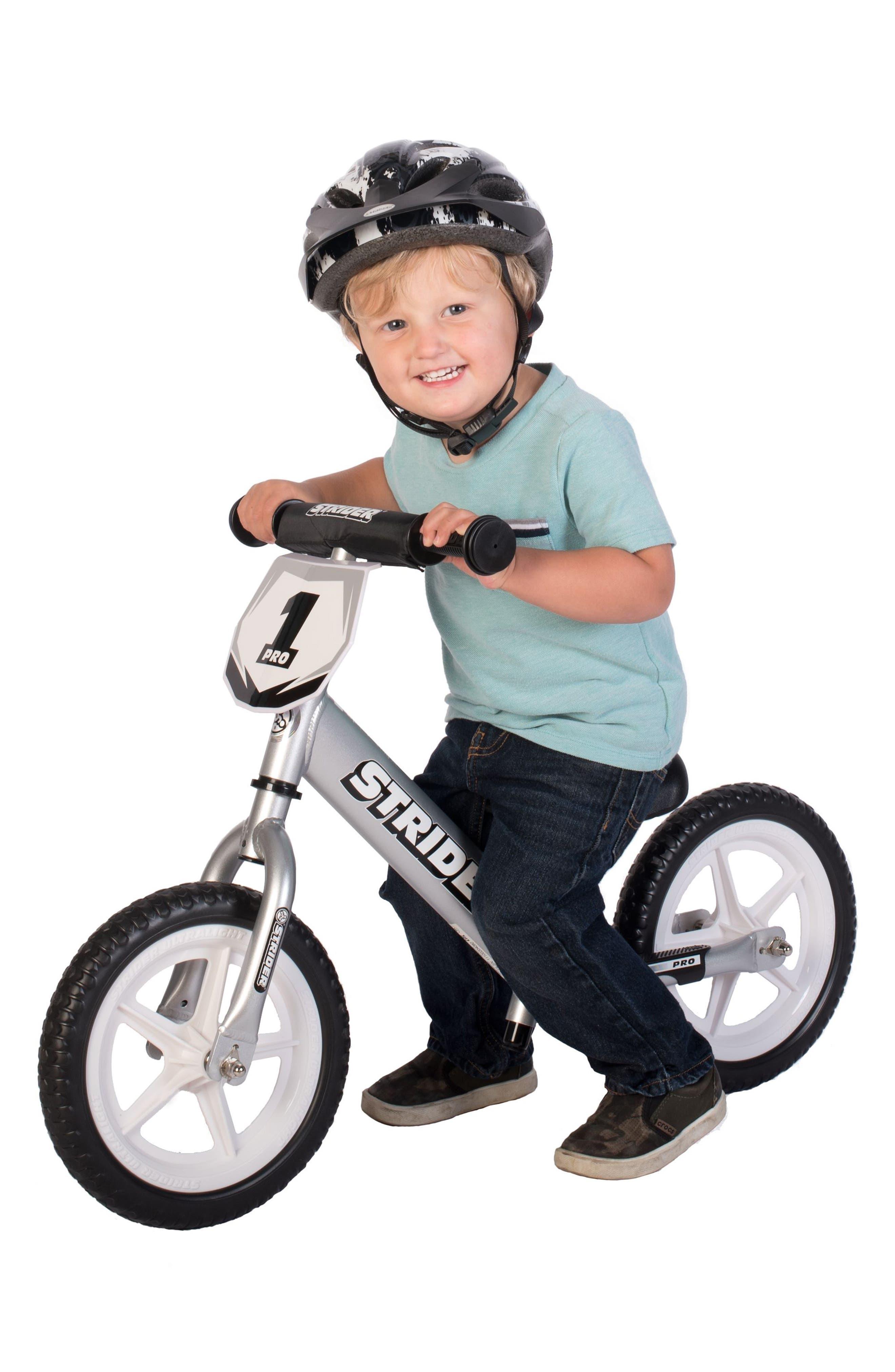 12 Pro Balance No Pedal Bike,                             Alternate thumbnail 9, color,                             SILVER