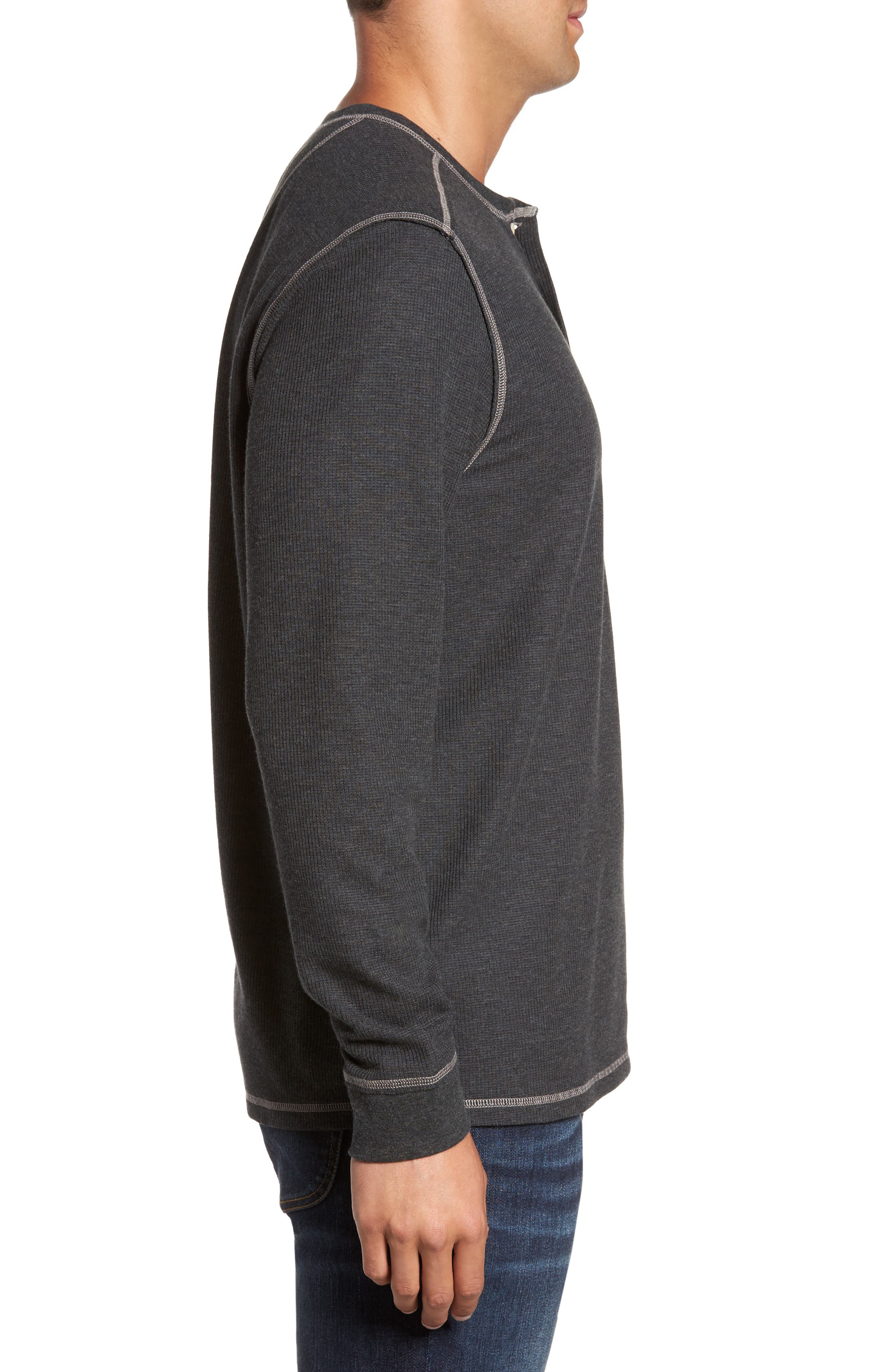 Island Thermal Henley,                             Alternate thumbnail 5, color,