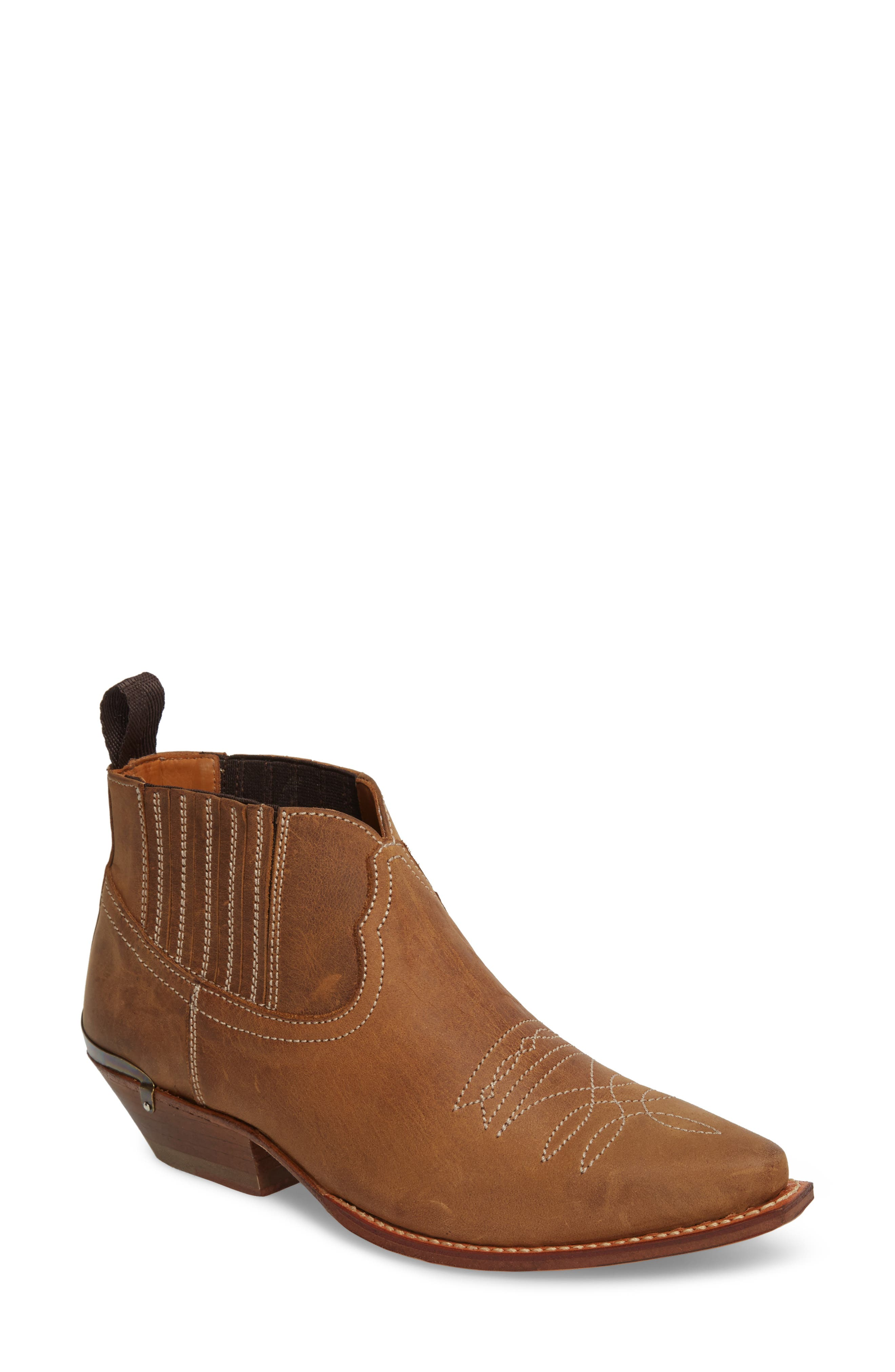 Jalon Western Bootie,                         Main,                         color, 200