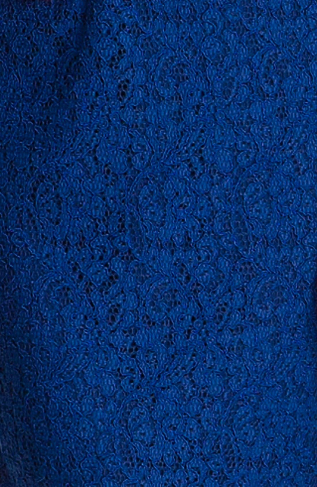 Boatneck Lace Sheath Dress,                             Alternate thumbnail 131, color,