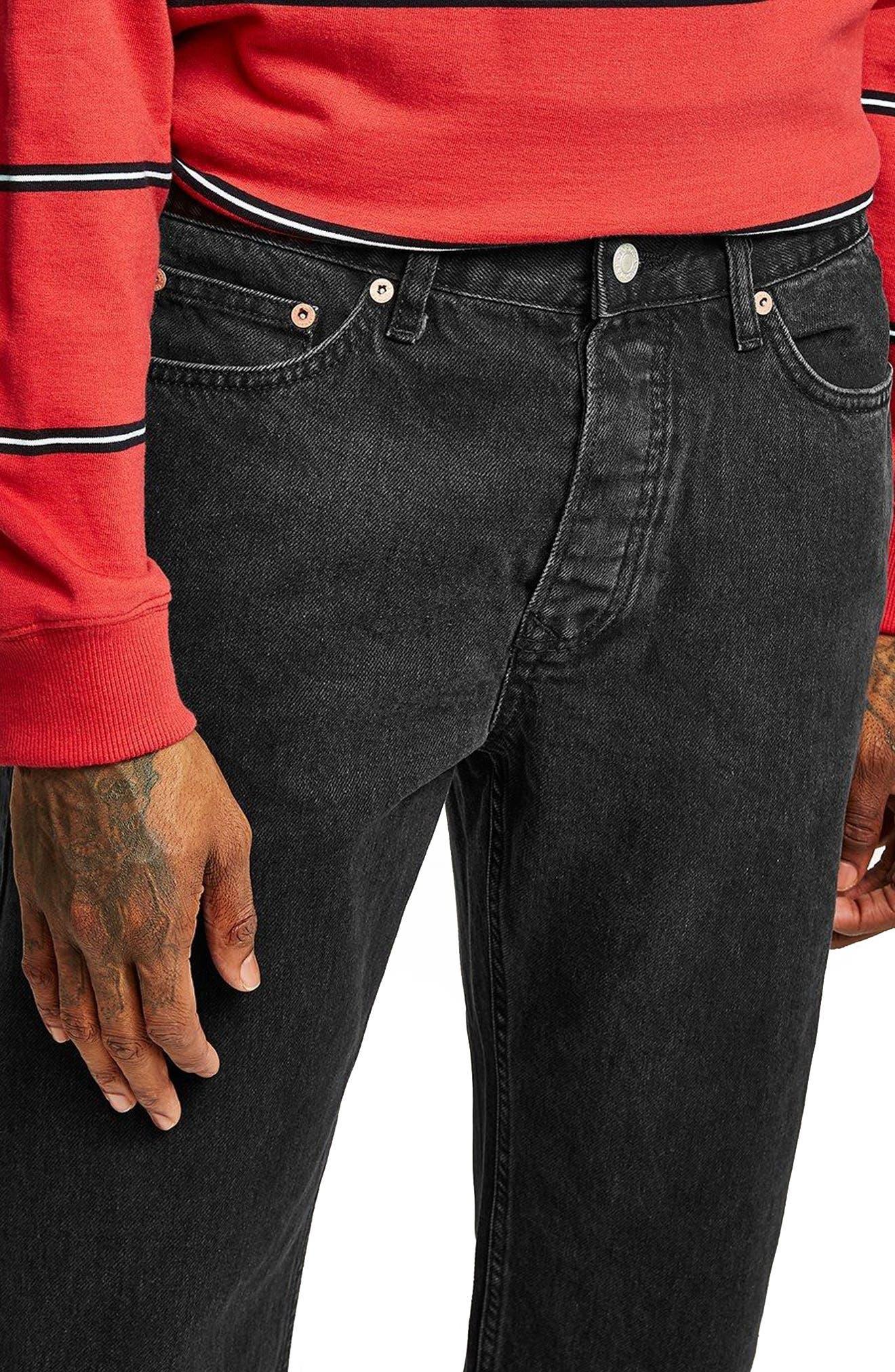 Original Fit Jeans,                             Alternate thumbnail 2, color,                             001