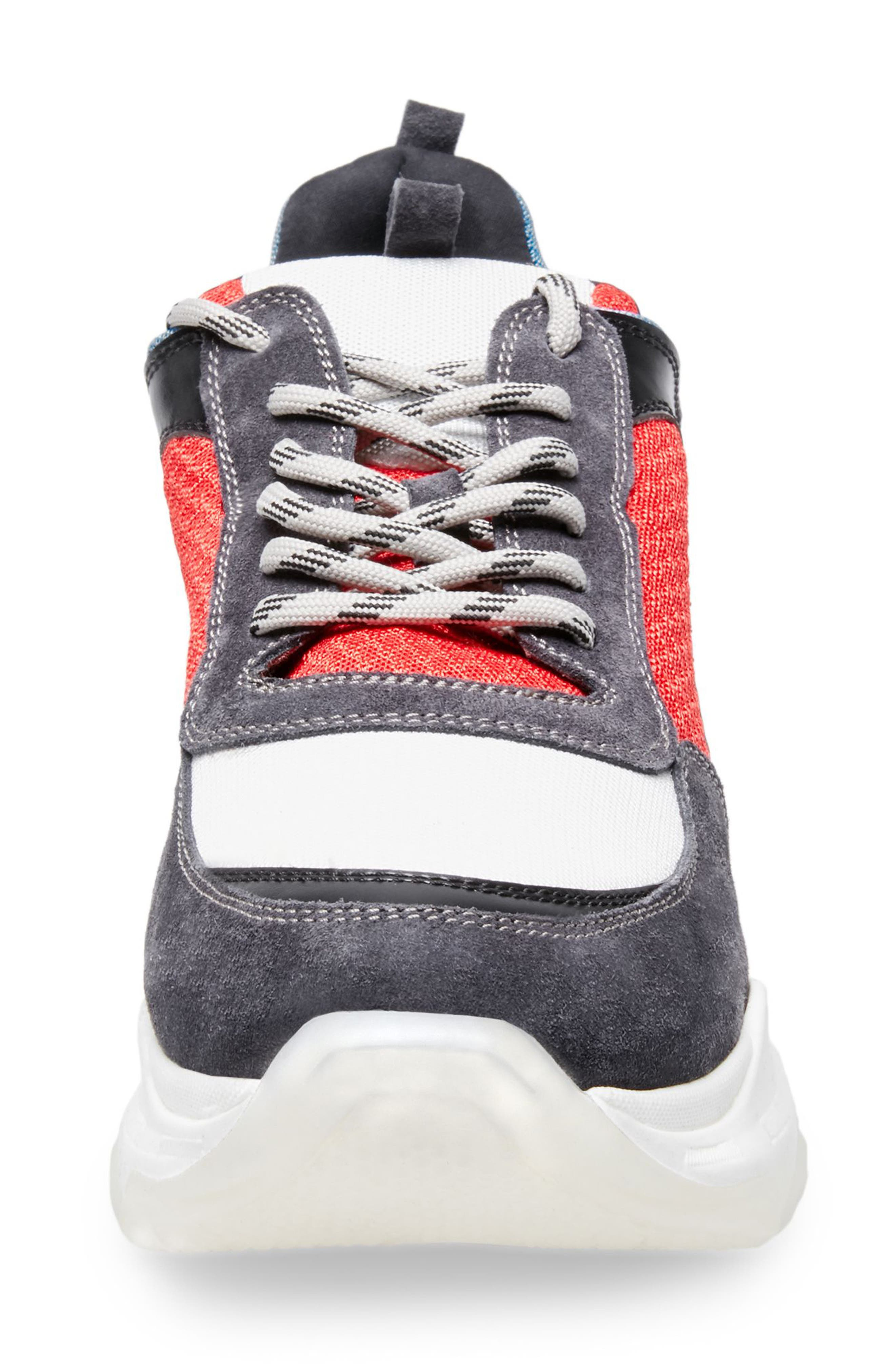 Russell Platform Sneaker,                             Alternate thumbnail 3, color,                             MULTI LEATHER