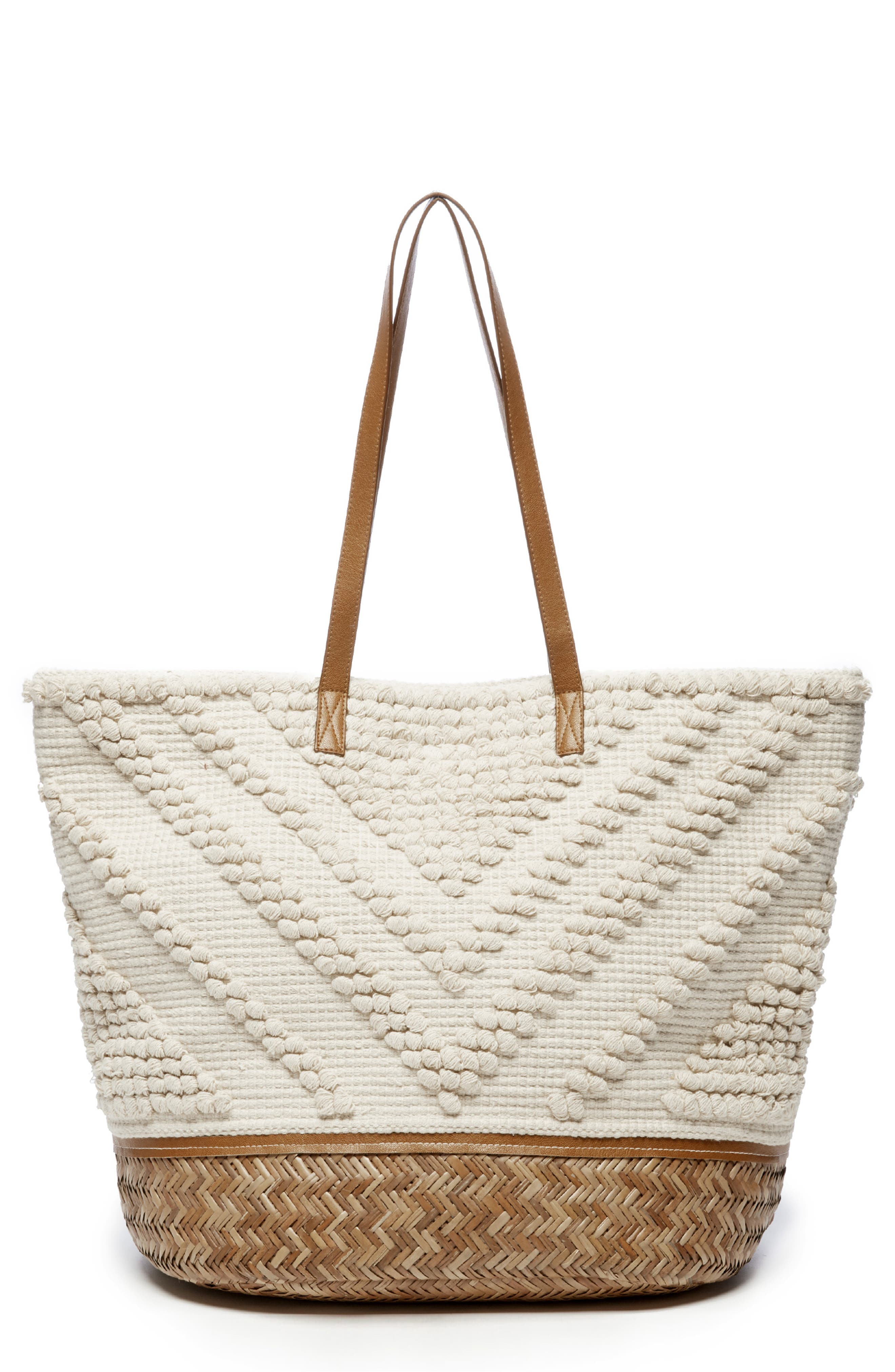 Oversized Fabric Tote,                             Main thumbnail 1, color,                             250