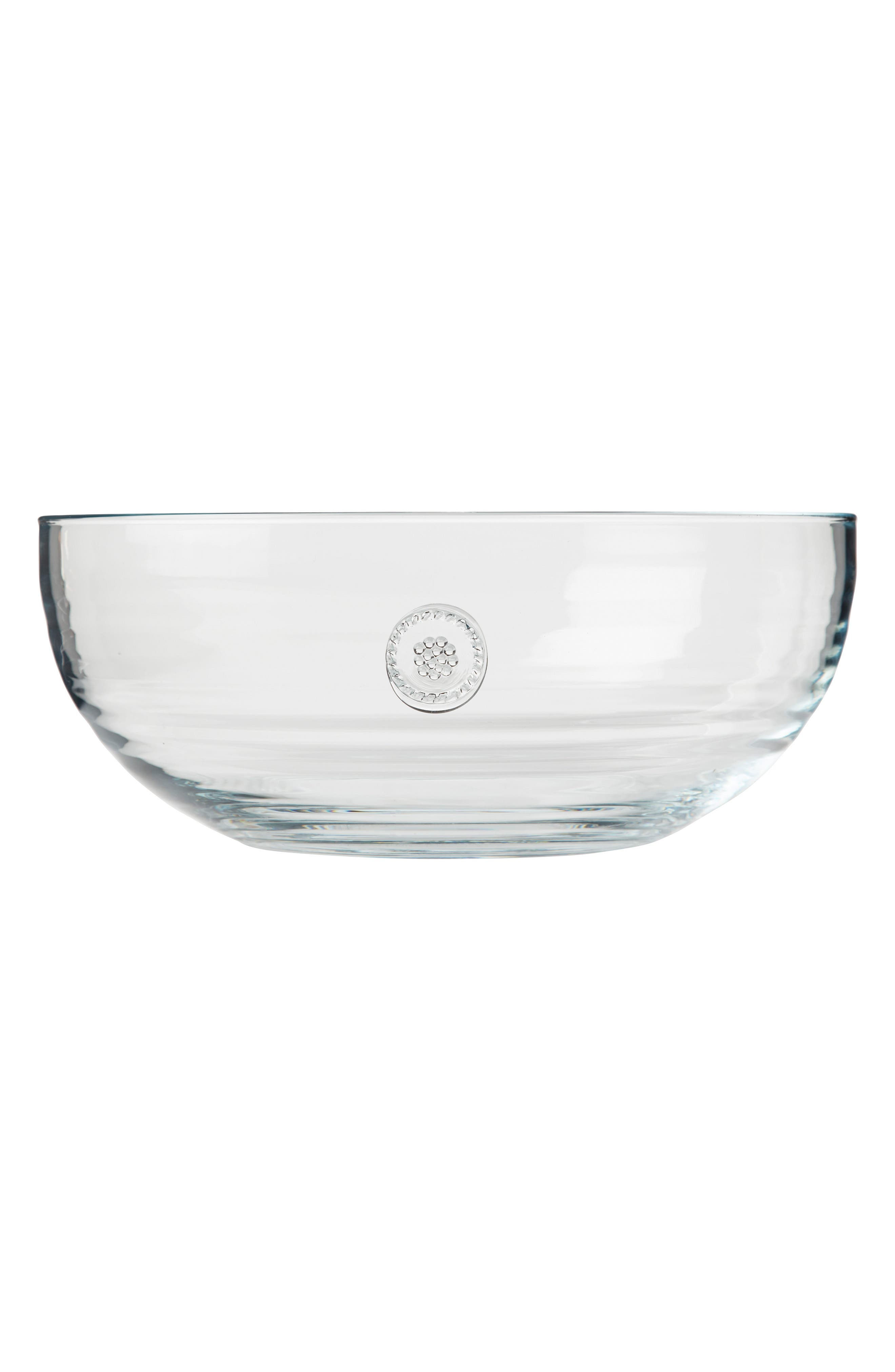Berry & Thread Large Glass Bowl,                             Alternate thumbnail 2, color,                             CLEAR