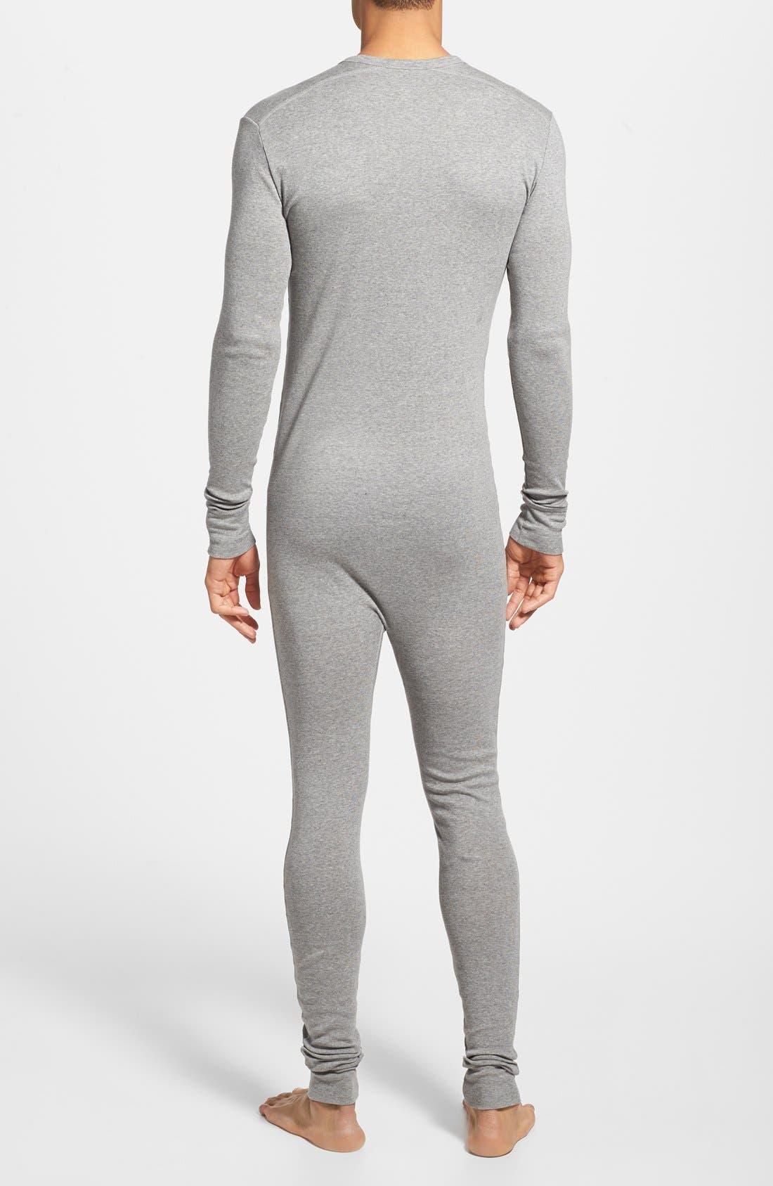 'Tartan' Union Suit,                             Alternate thumbnail 3, color,                             062