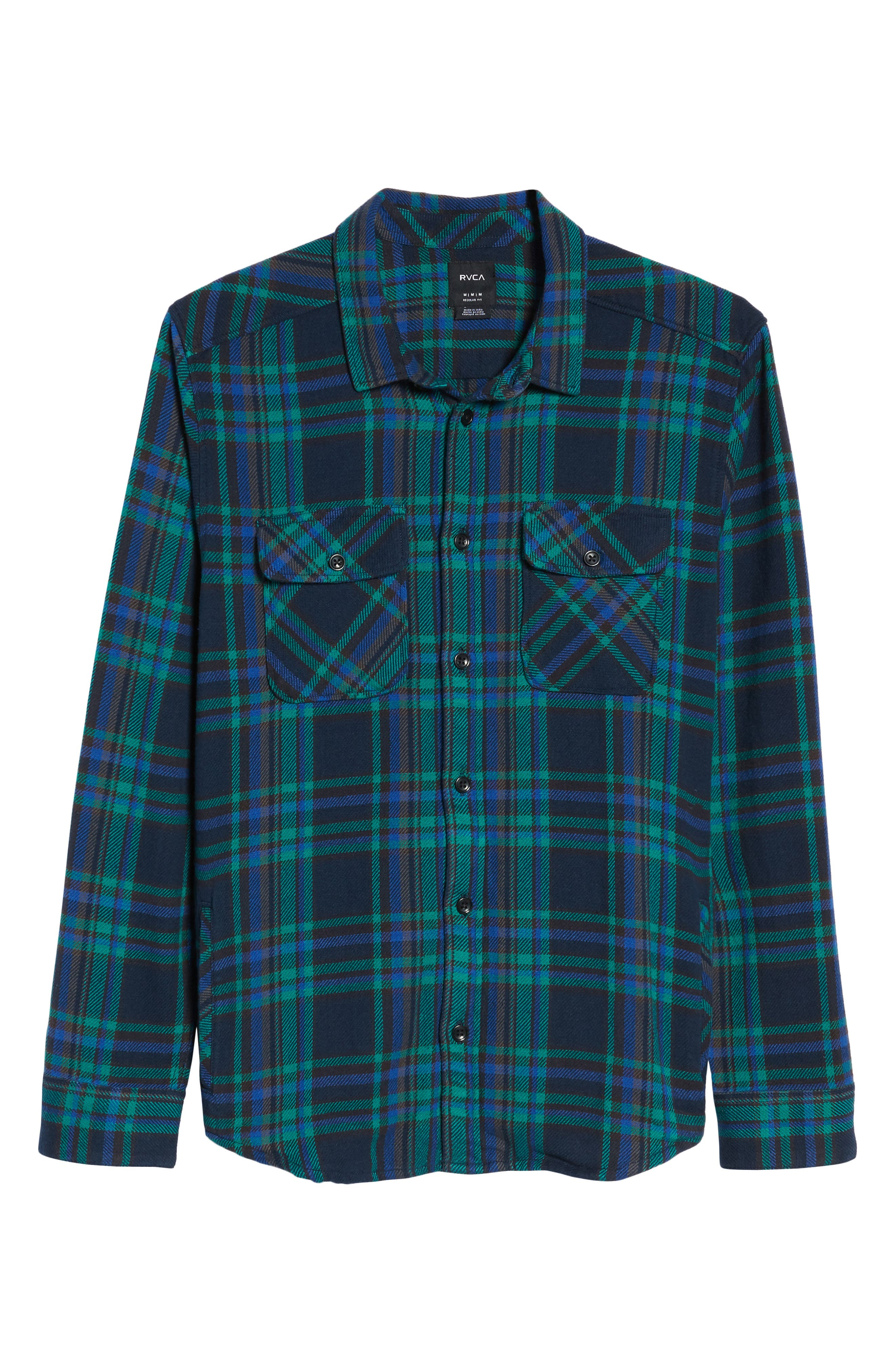 Camino Flannel Shirt,                             Alternate thumbnail 18, color,