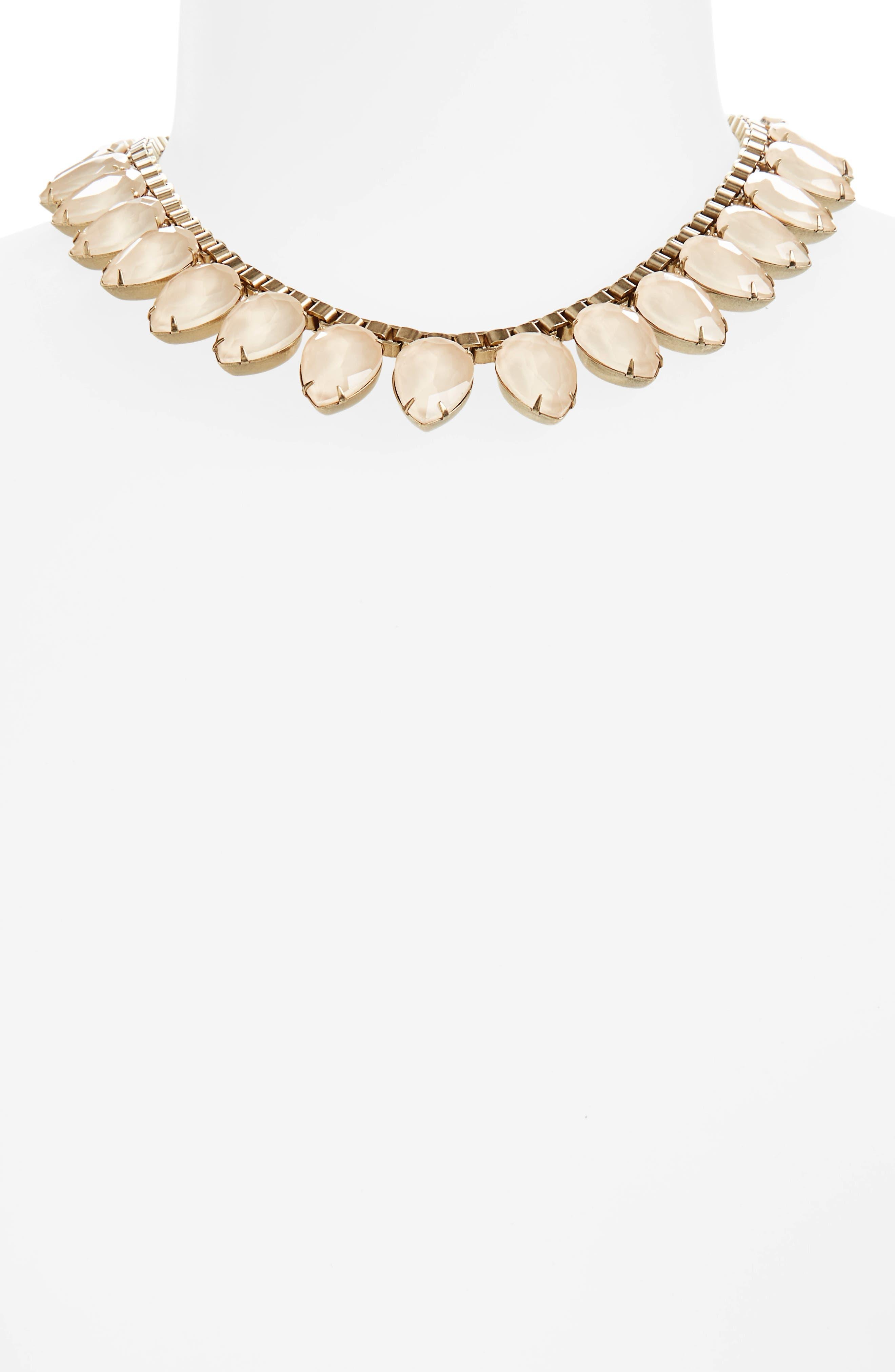 'Sylvia' Crystal Collar Necklace,                             Alternate thumbnail 20, color,