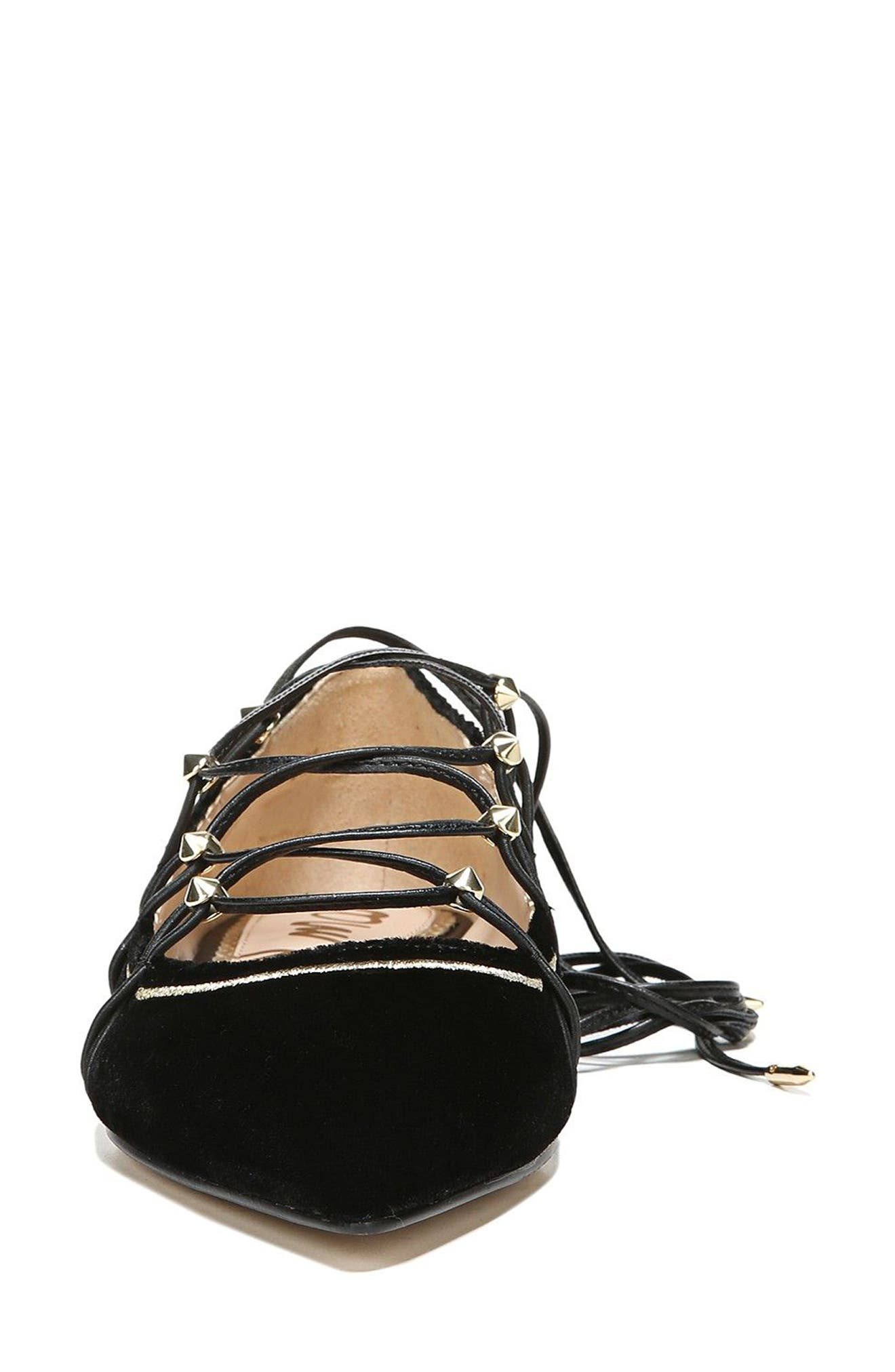 Rockwell Ghillie Pointy Toe Flat,                             Alternate thumbnail 7, color,