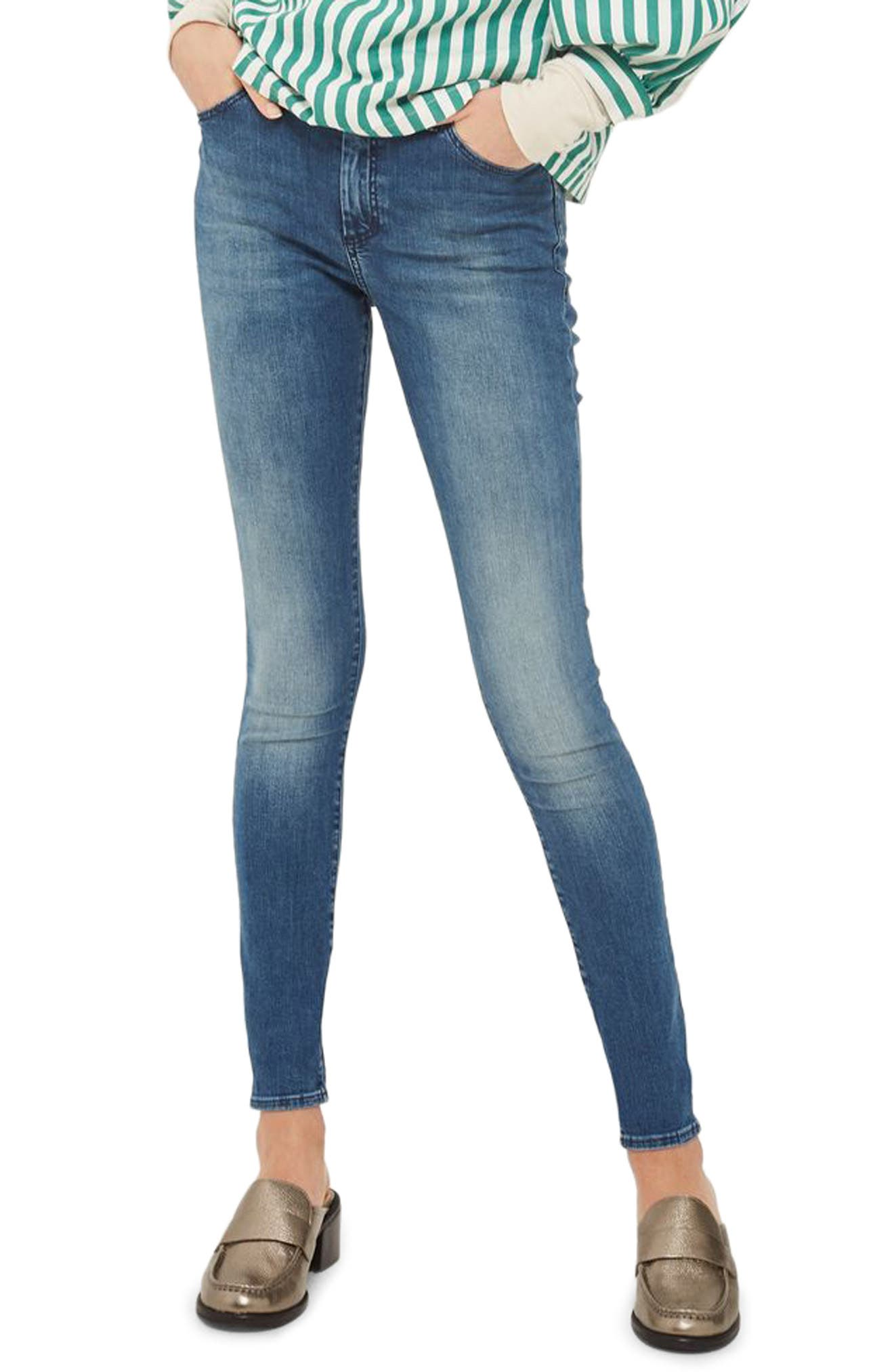 Leigh Skinny Jeans,                         Main,                         color, 400