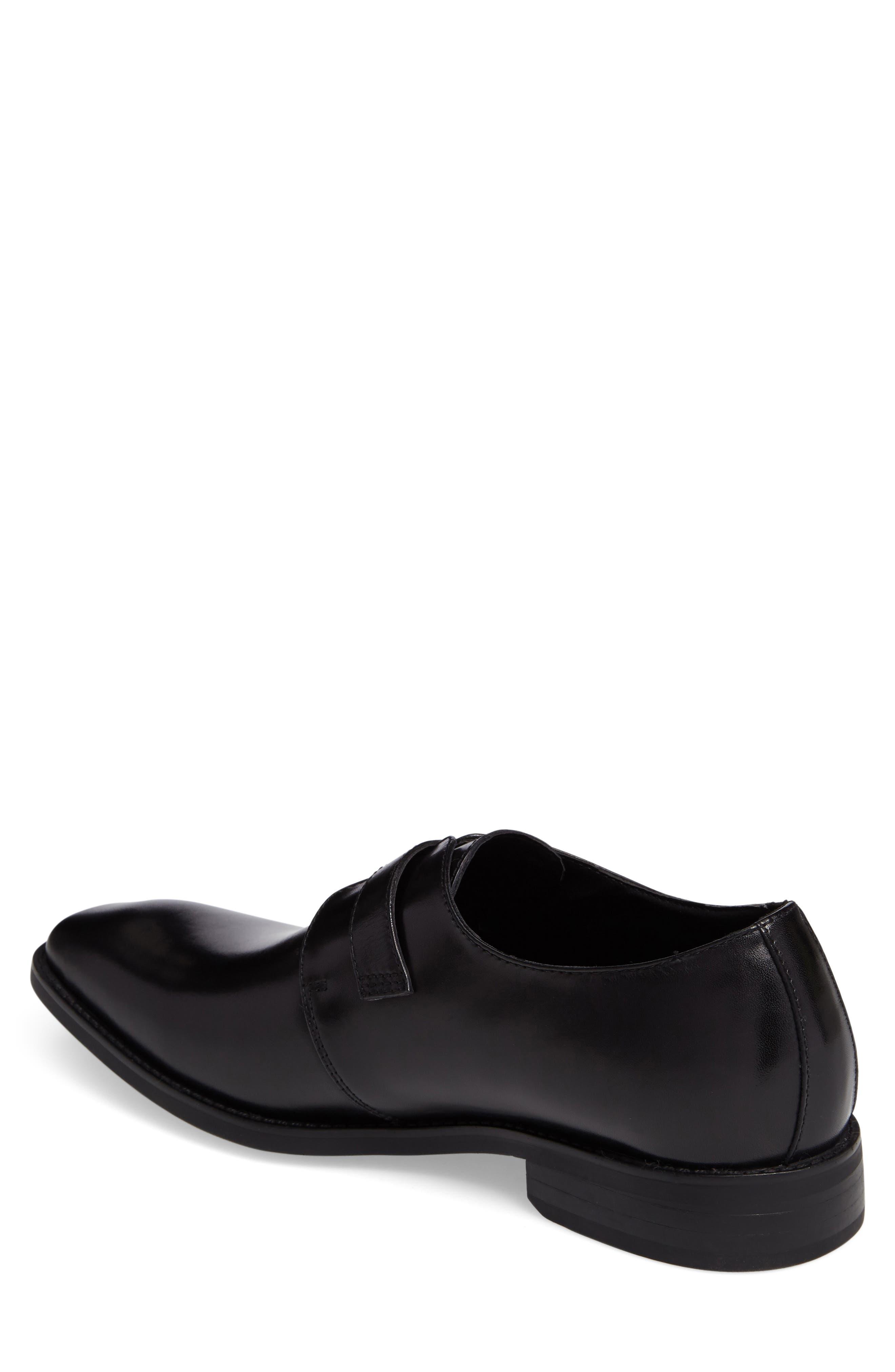 Landon Monk Strap Shoe,                             Alternate thumbnail 2, color,                             001